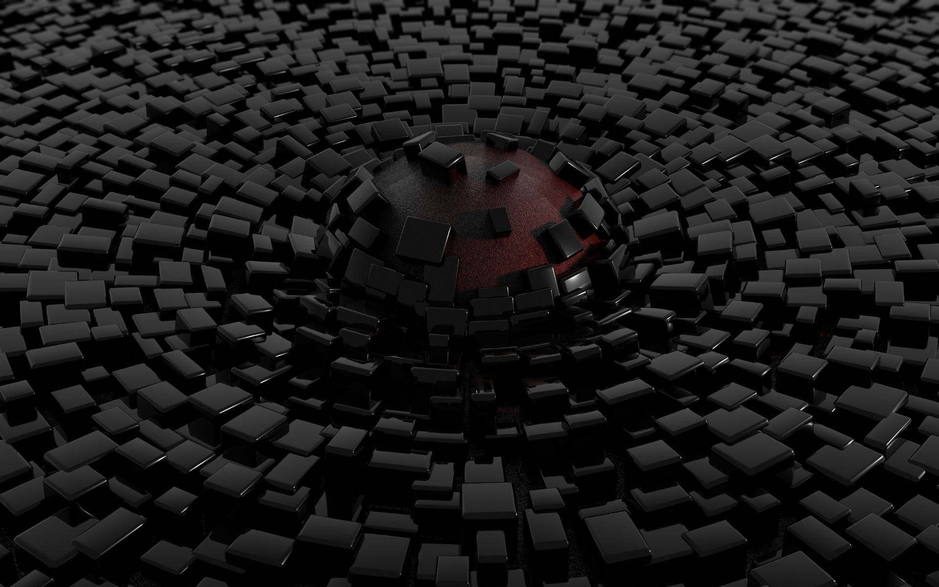 Black 3d Wallpaper Full HD for Desktop Background px 462.52 KB
