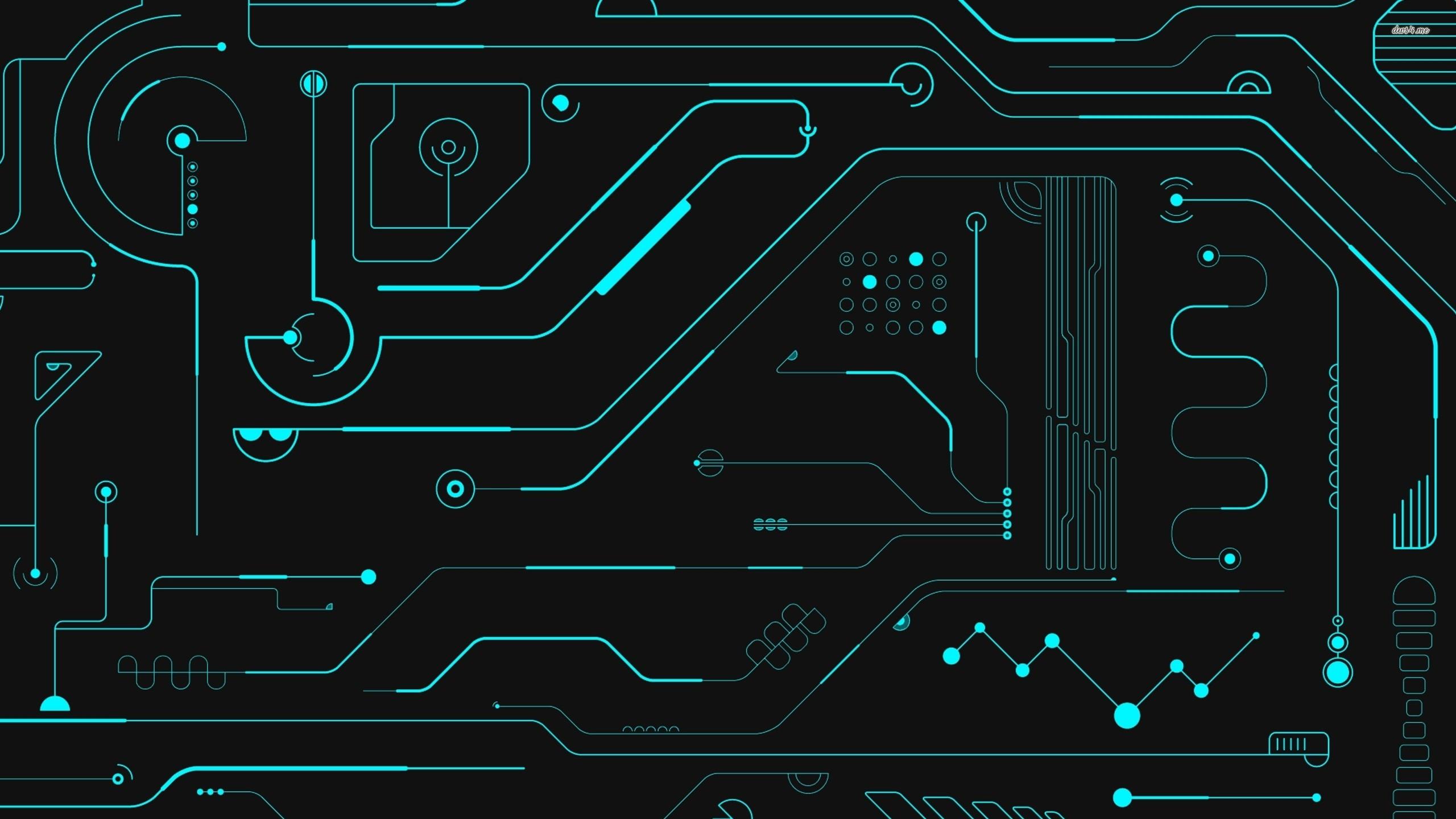 Electric Circuit, Desktop Wallpapers