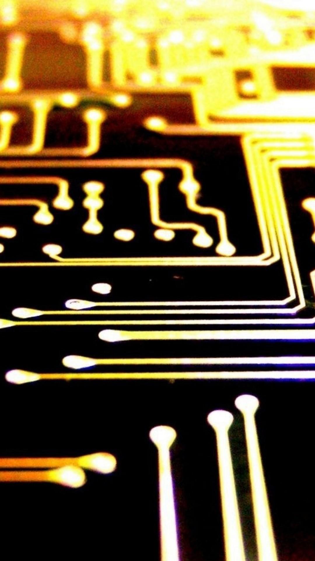 Printed Circuit Board Lockscreen iPhone 6 Plus HD Wallpaper …