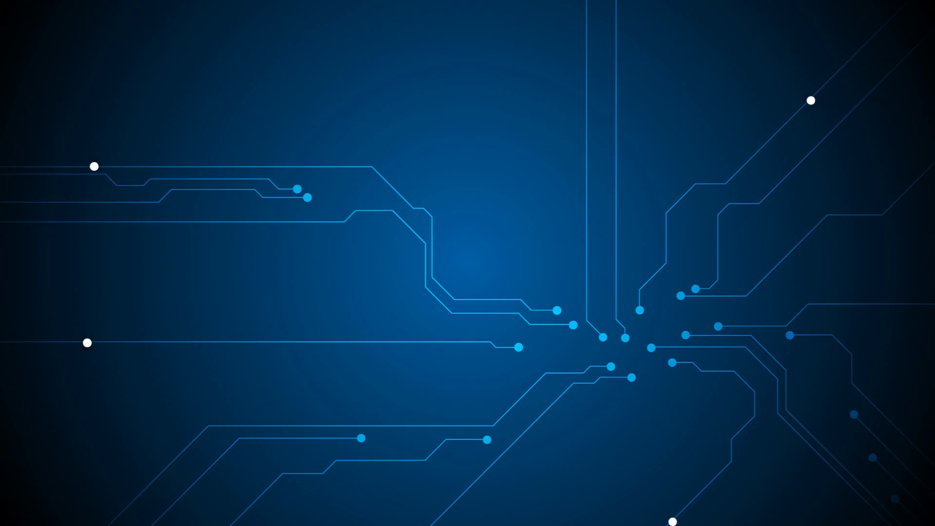 Blue tech circuit board technology animated background. Video graphic  design HD Motion Background – VideoBlocks