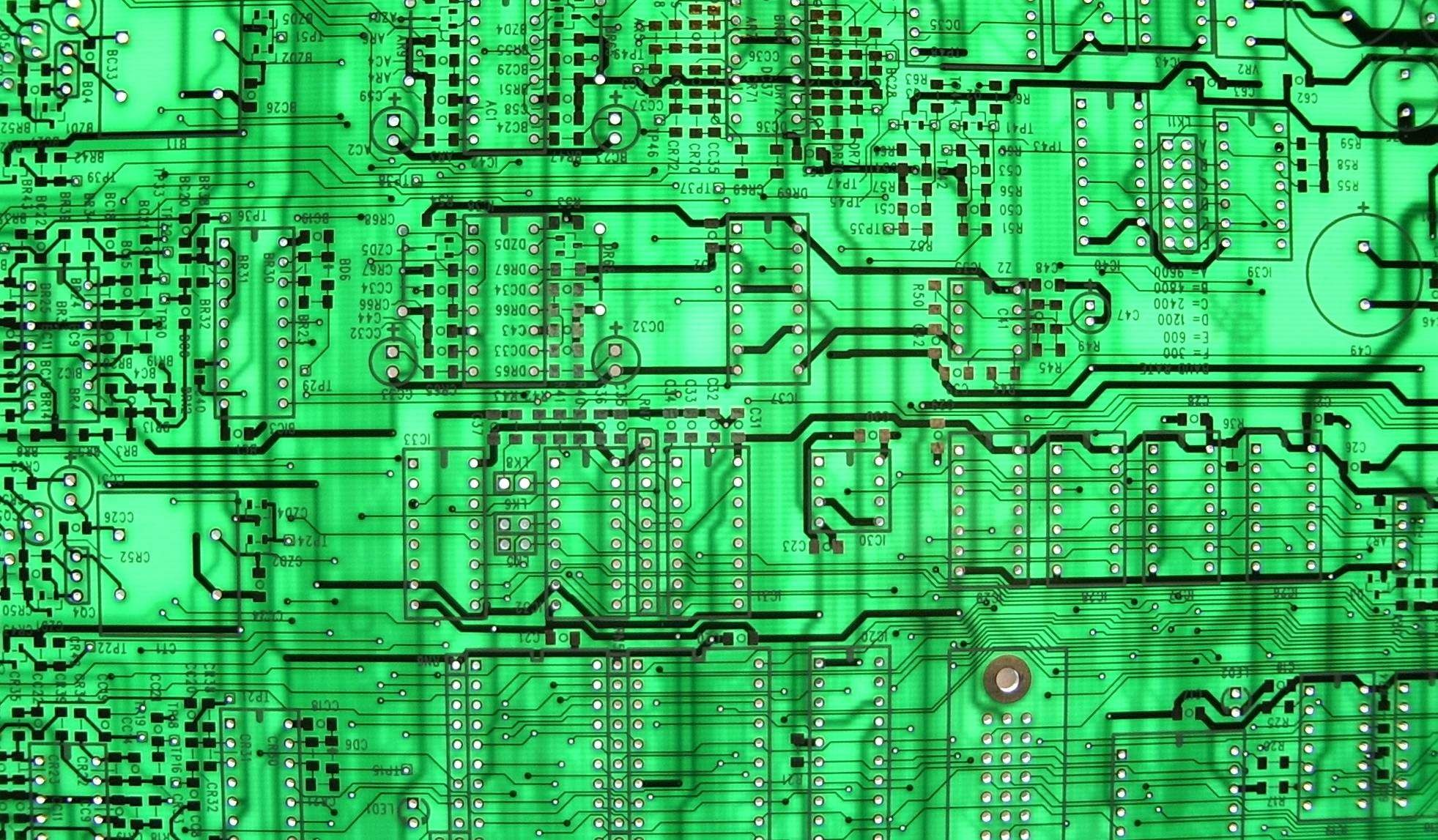 Stock image and royaltyfree Circuit Board Backgrounds Wallpapers)