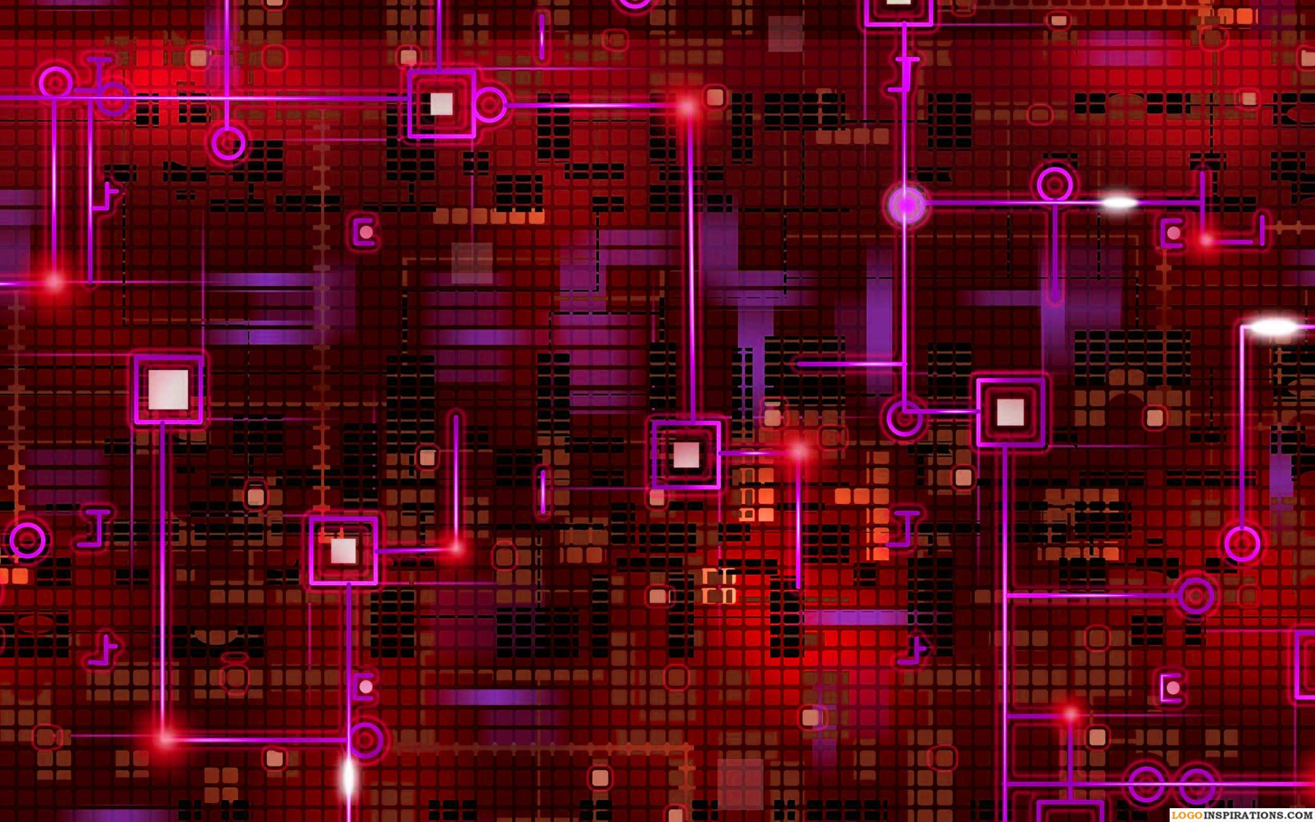 HD Circuit Board Wallpaper