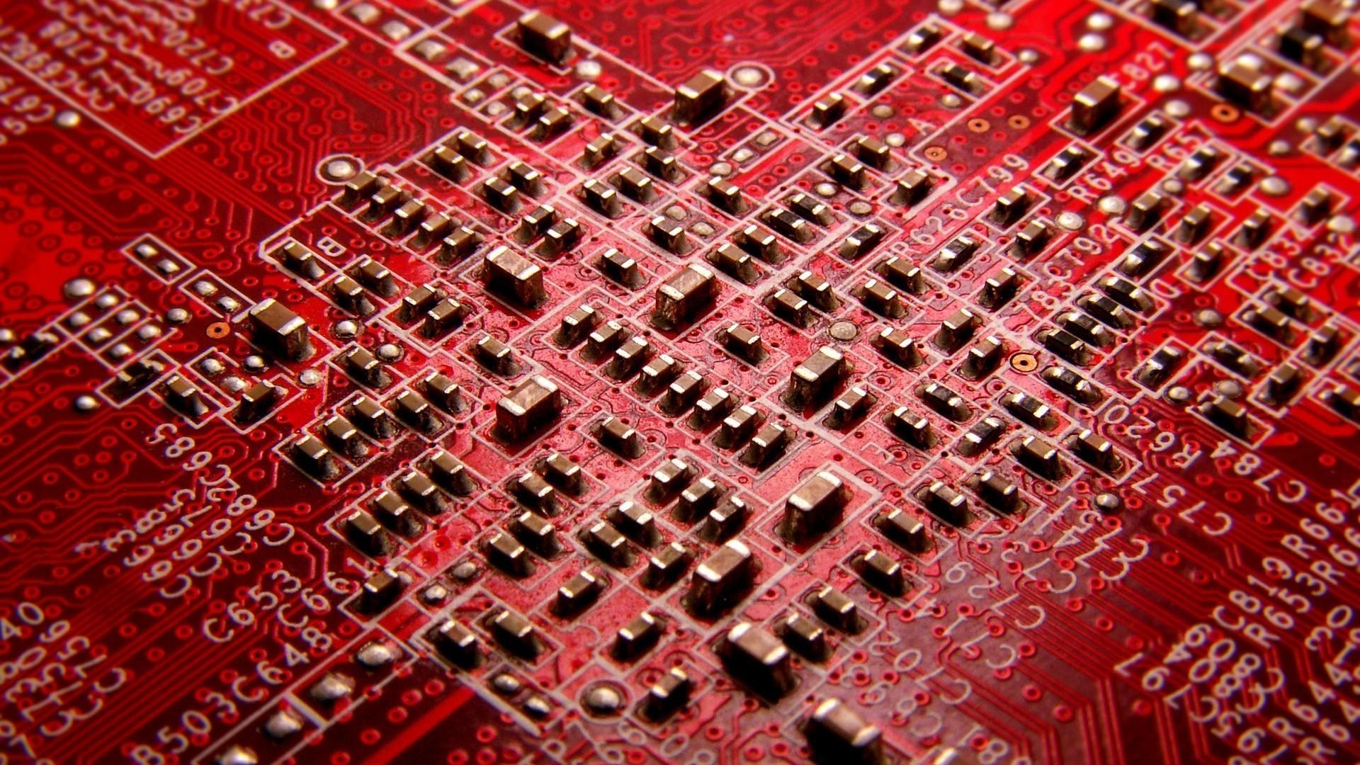 General hardware red circuit boards PCB resistor