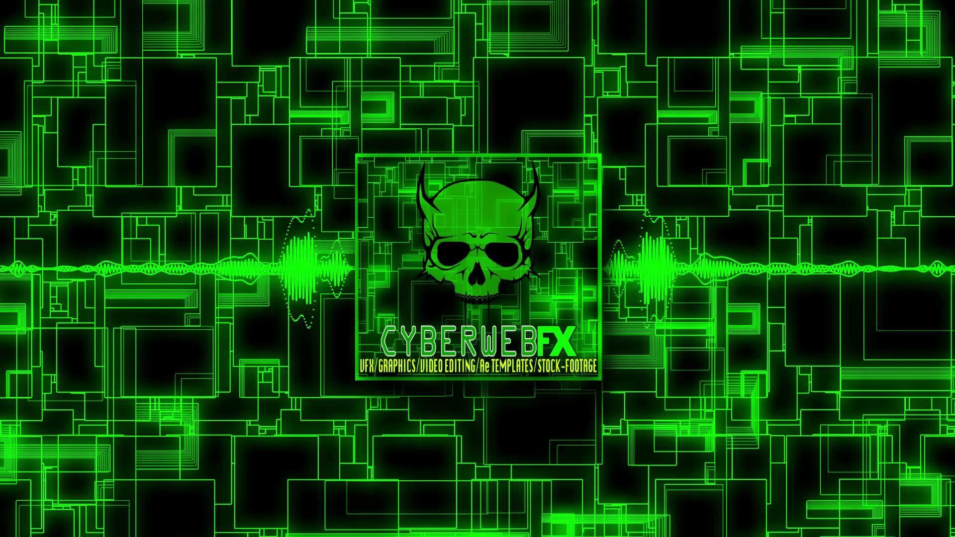 FREE HD Royalty-Free Stock footage 'Circuitboard Matrix'