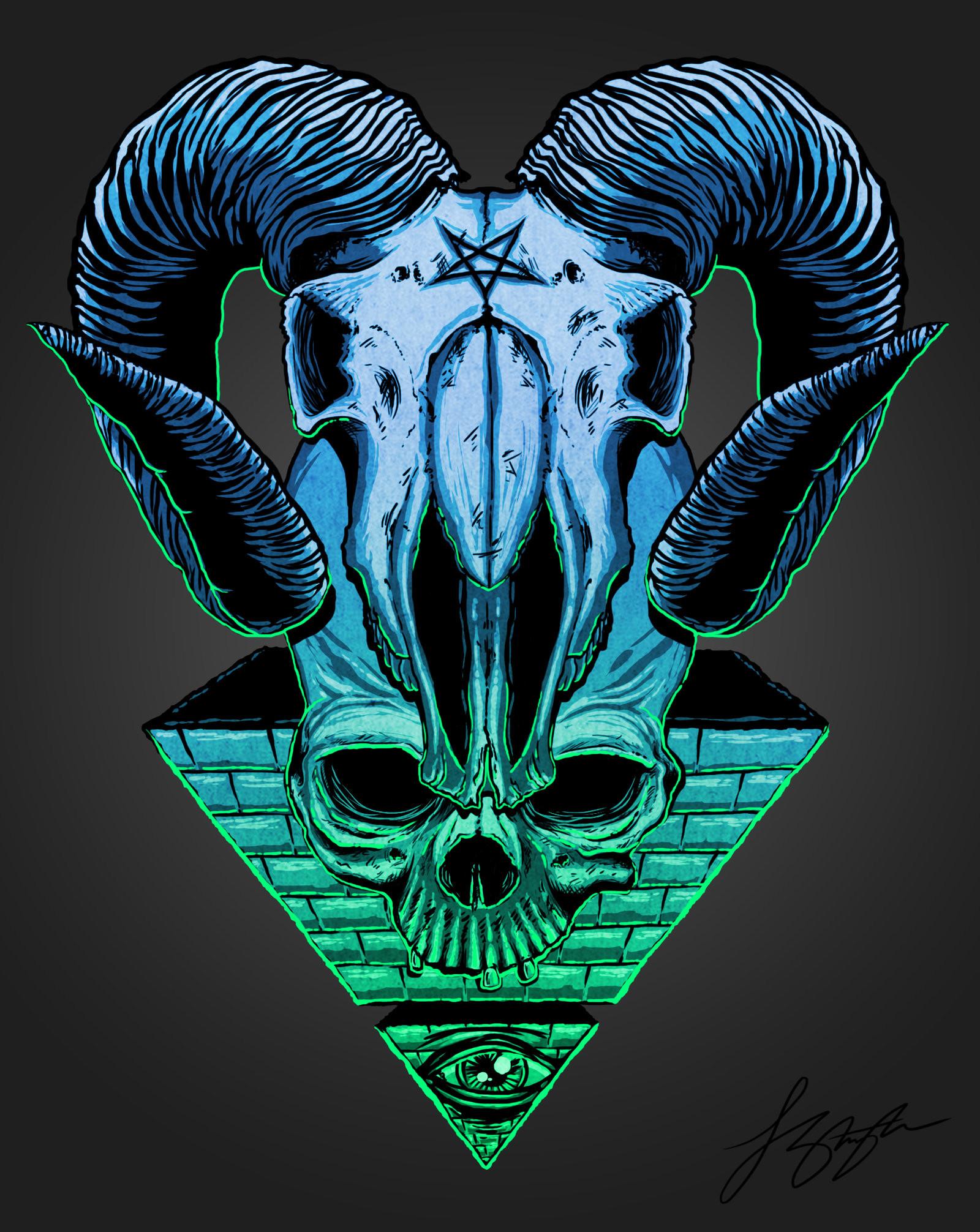 … All seeing eye by liquid-venom