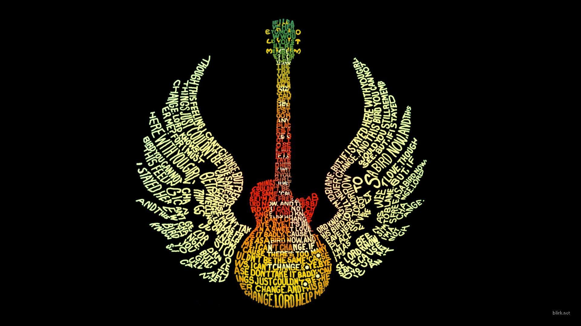 Slank Guitar Desktop Wallpaper