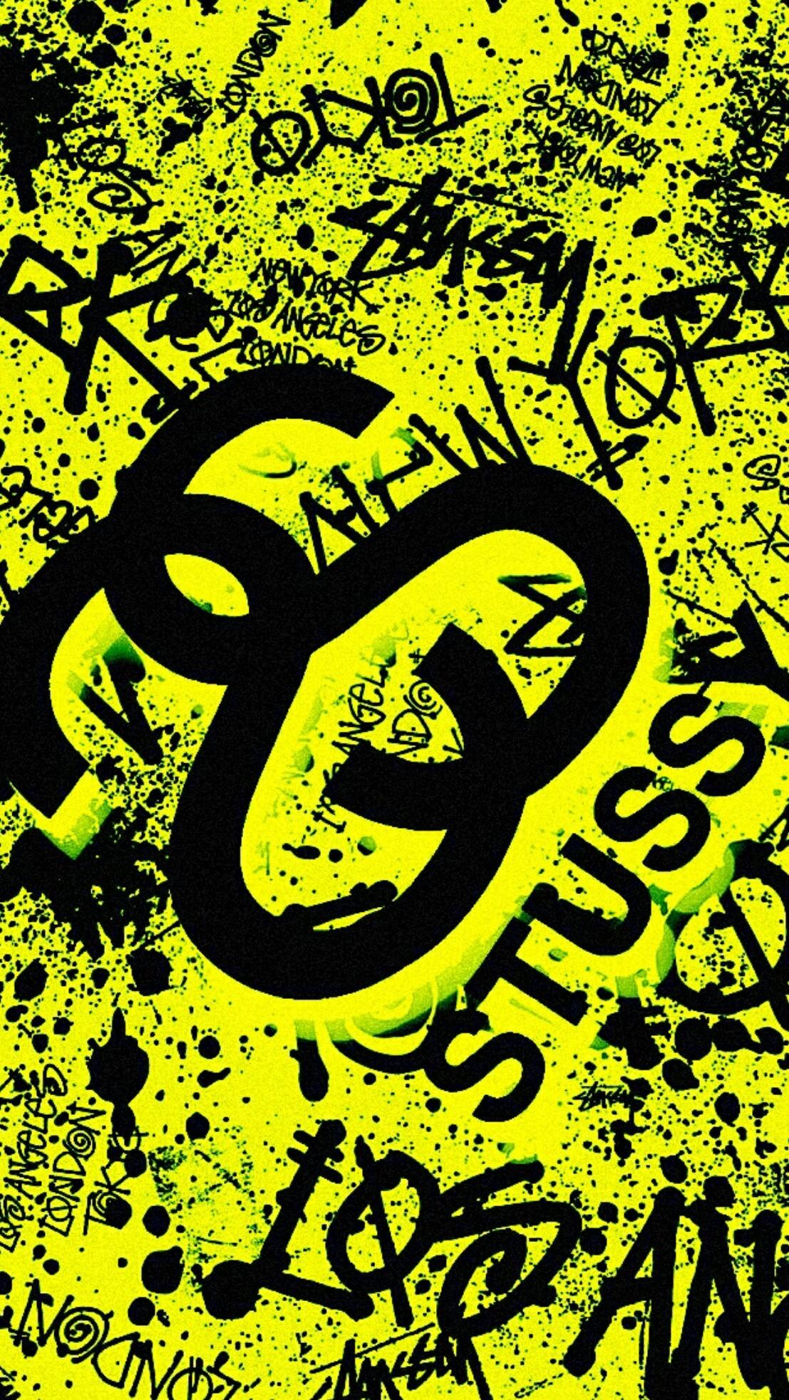 #stussy #samsung #edge #s6 #supreme #black #wallpaper #android