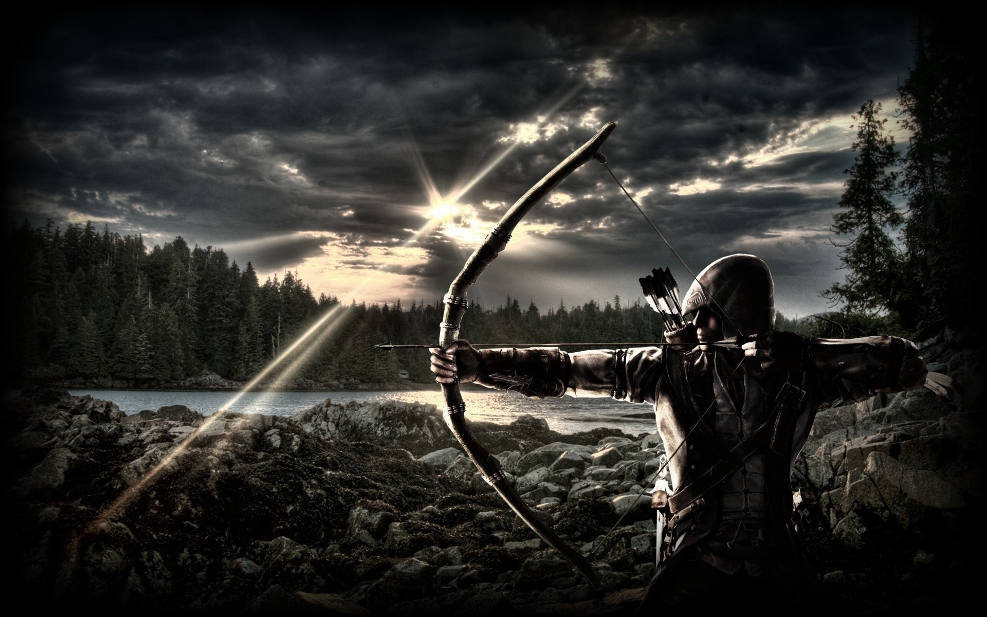 hd free wallpapers for desktop archery wallpapers –