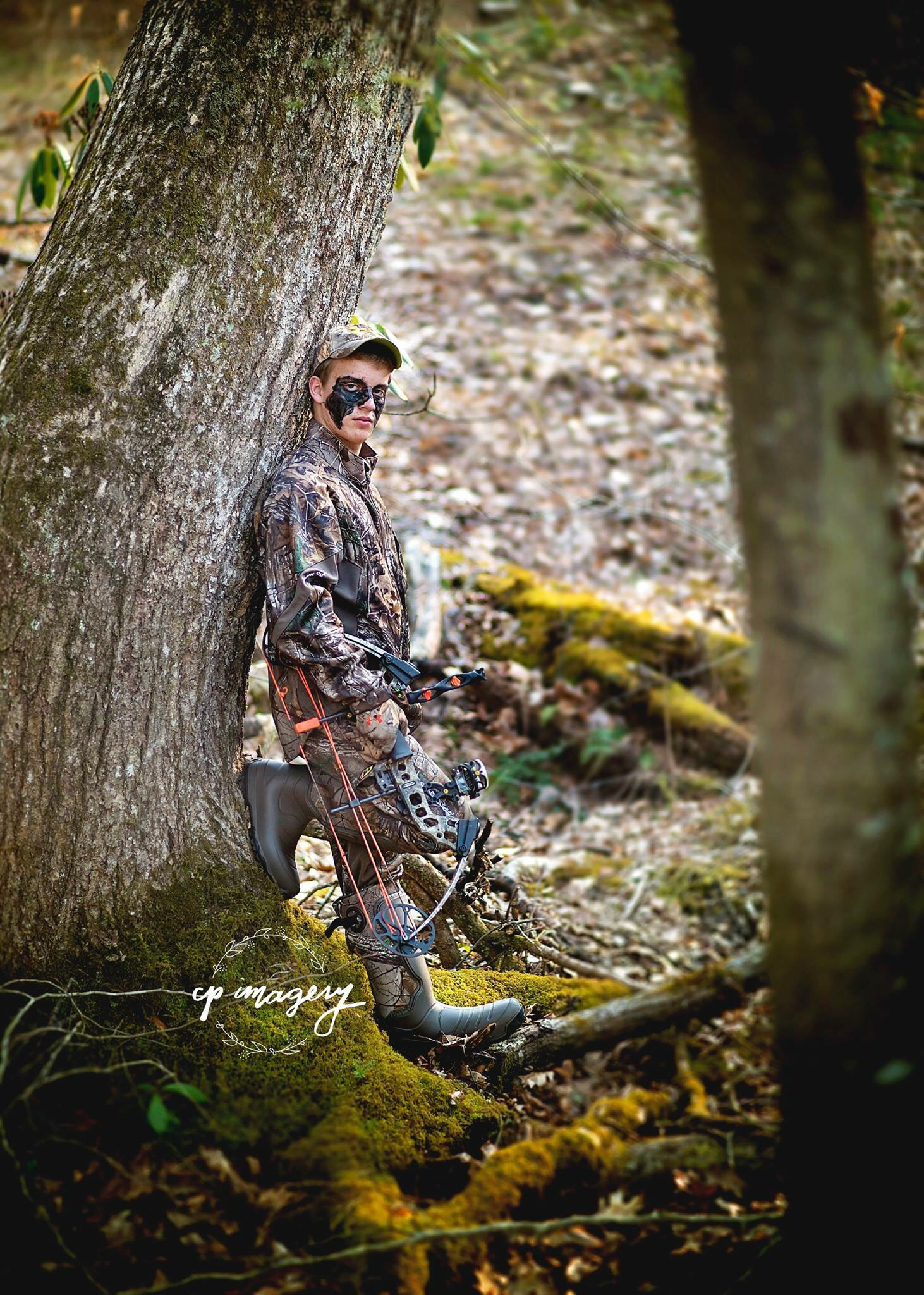 Country boy senior pictures. Cpimagery. West Virginia. Hunting senior  pictures. Bow hunter