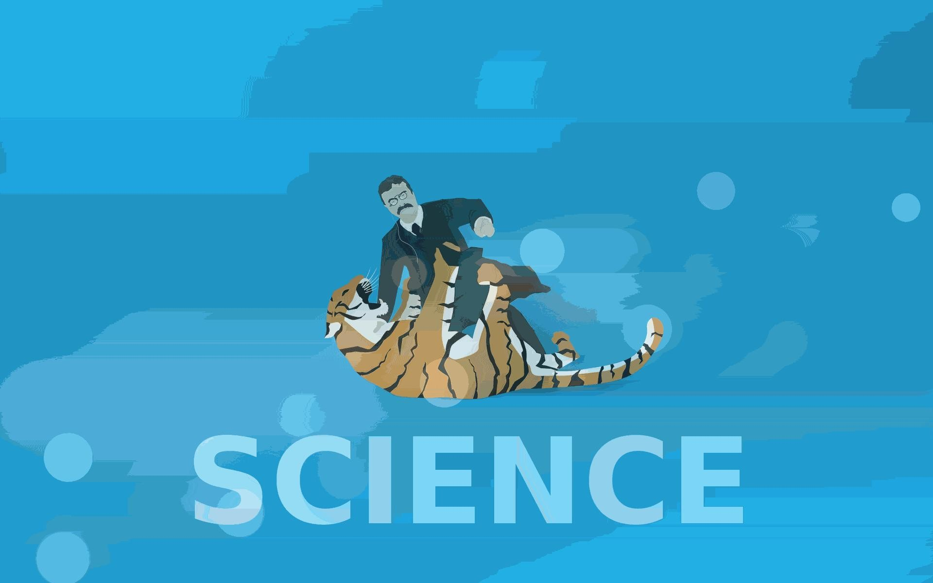 Science tigers badass teddy roosevelt wallpaper