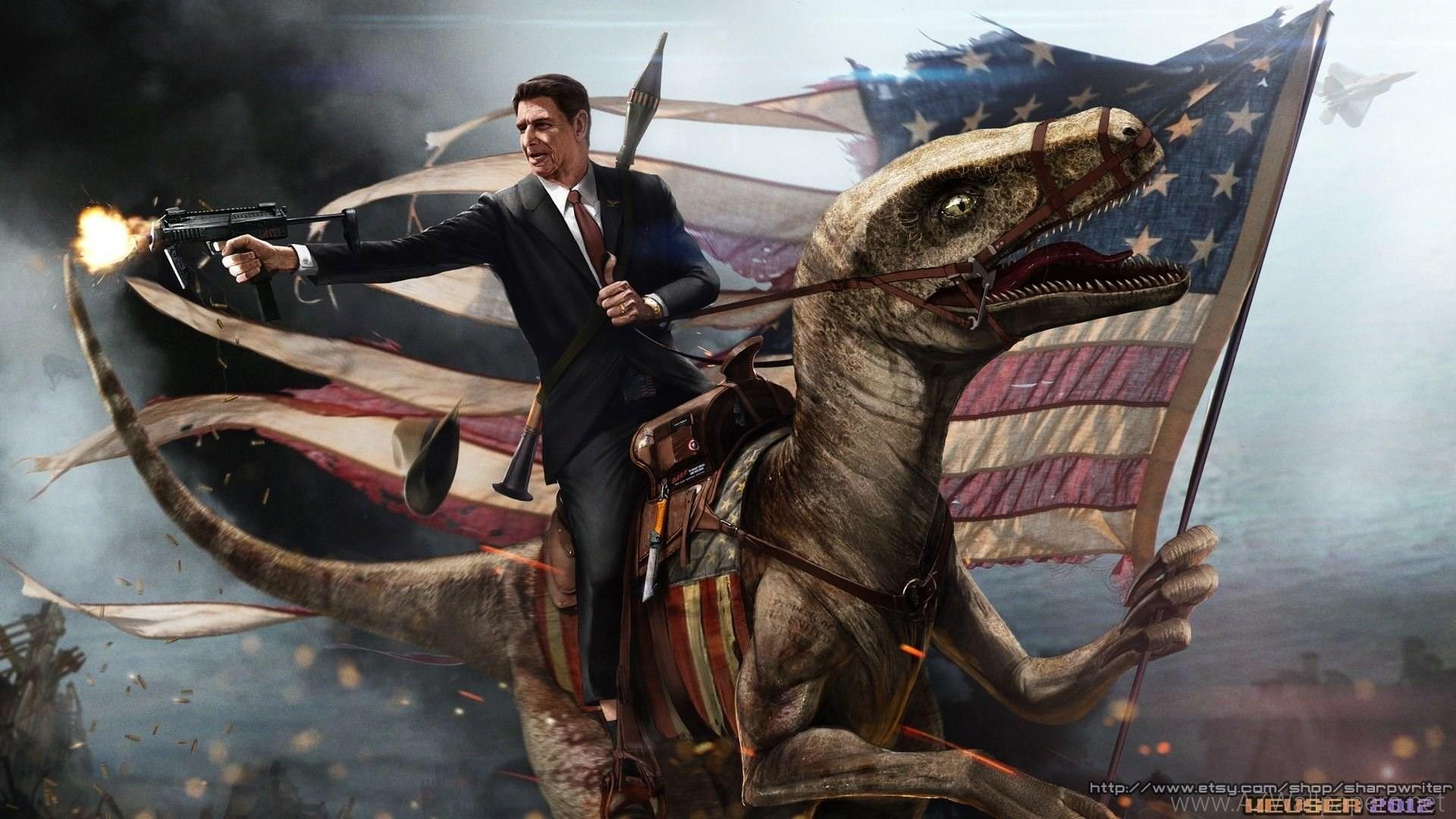 7 Badass Digital Art Wallpapers Of United States Presidents .