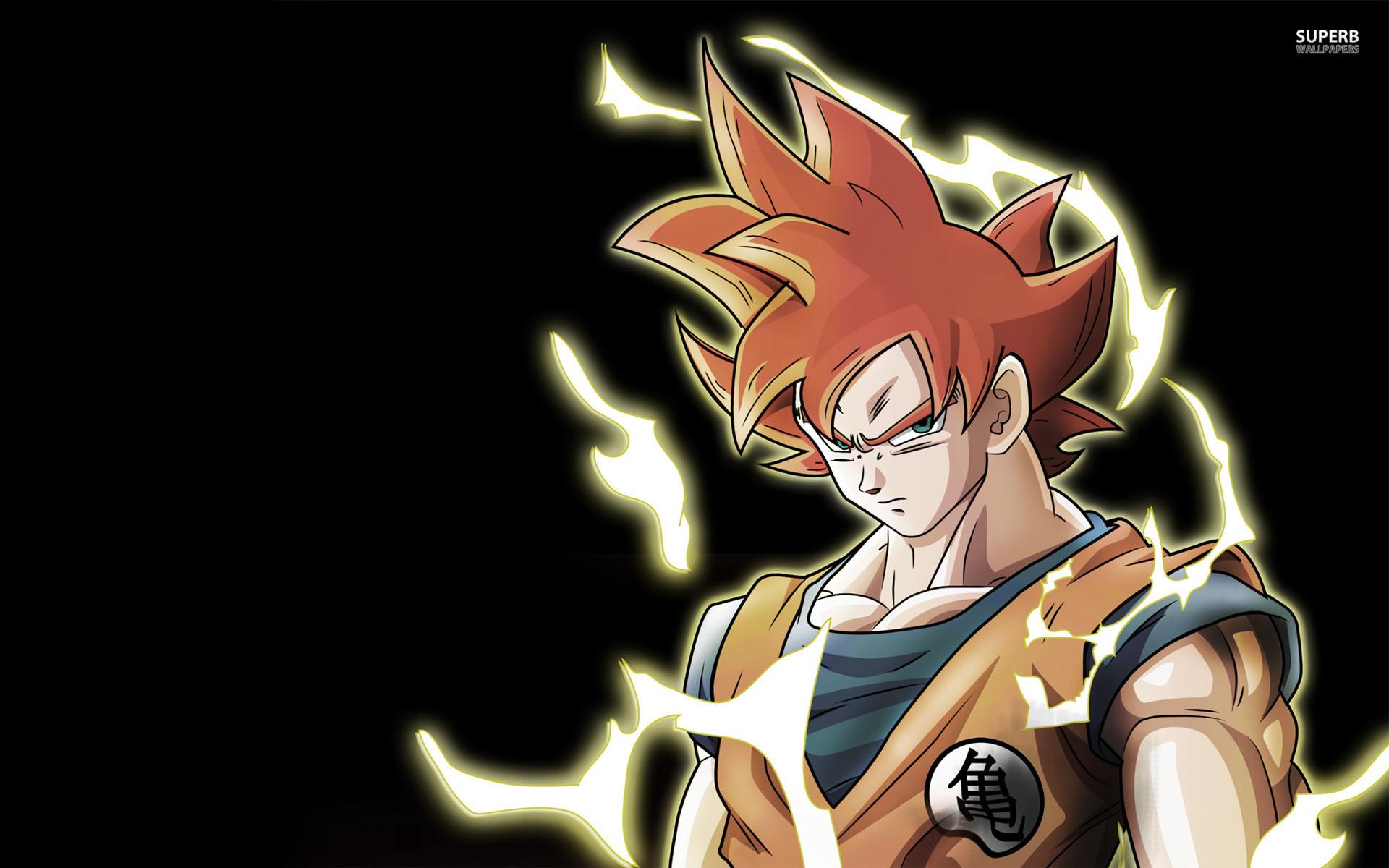 Badass Goku HD Wallpaper
