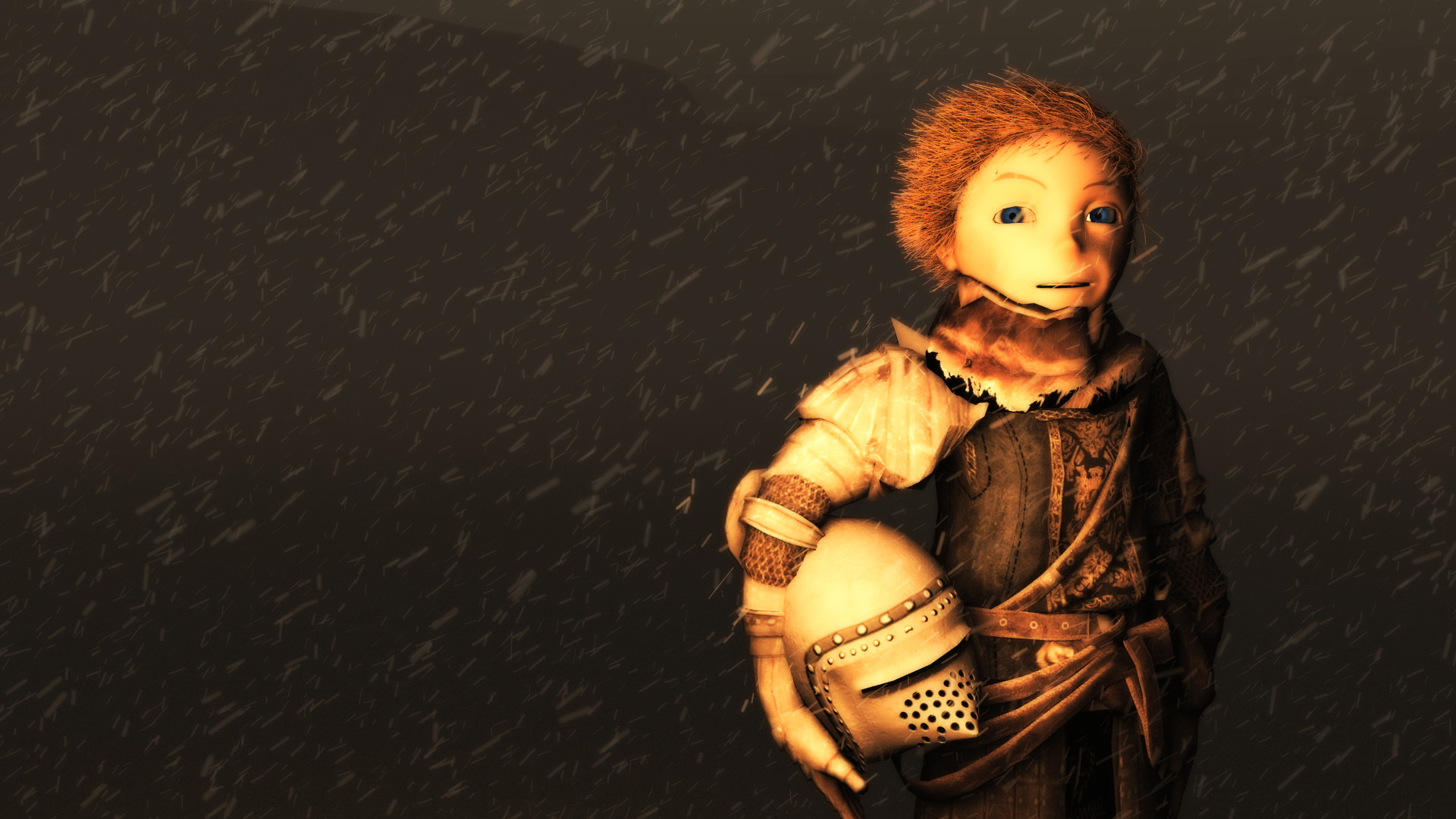 medieval, Knights, Helmet, Armor, Snow, Wind, Storm, Animation,