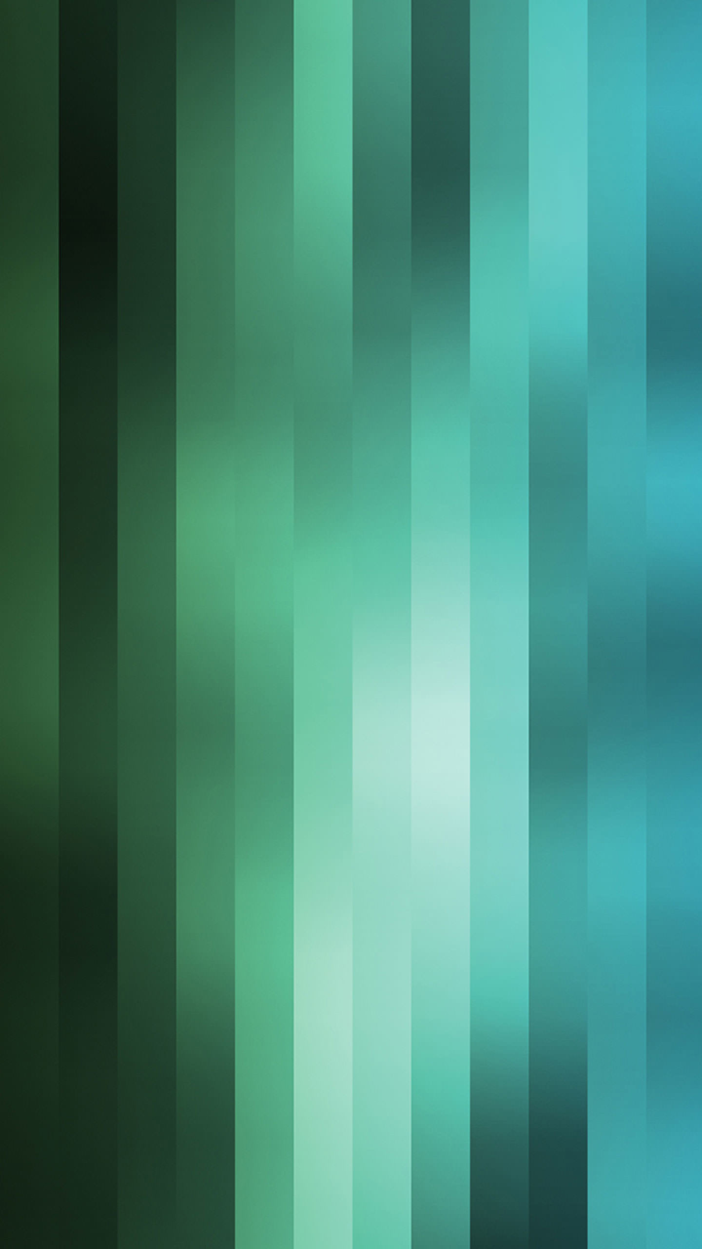 Vertical Blue And Green Stripes Wallpaper