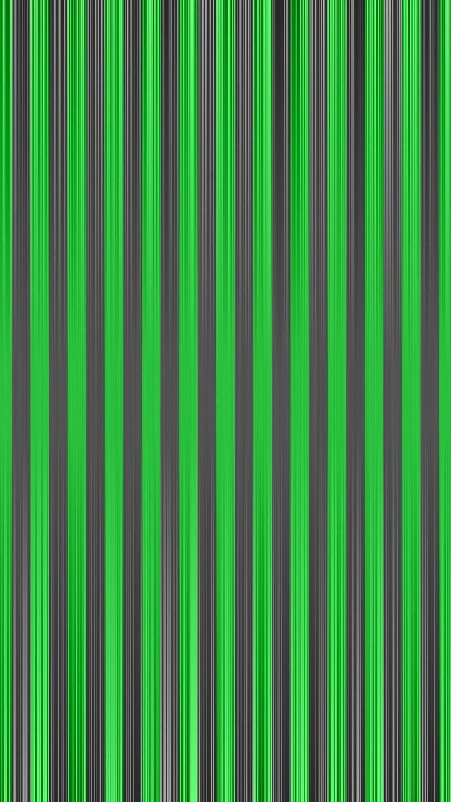 Wallpaper lines, stripes, vertical, green