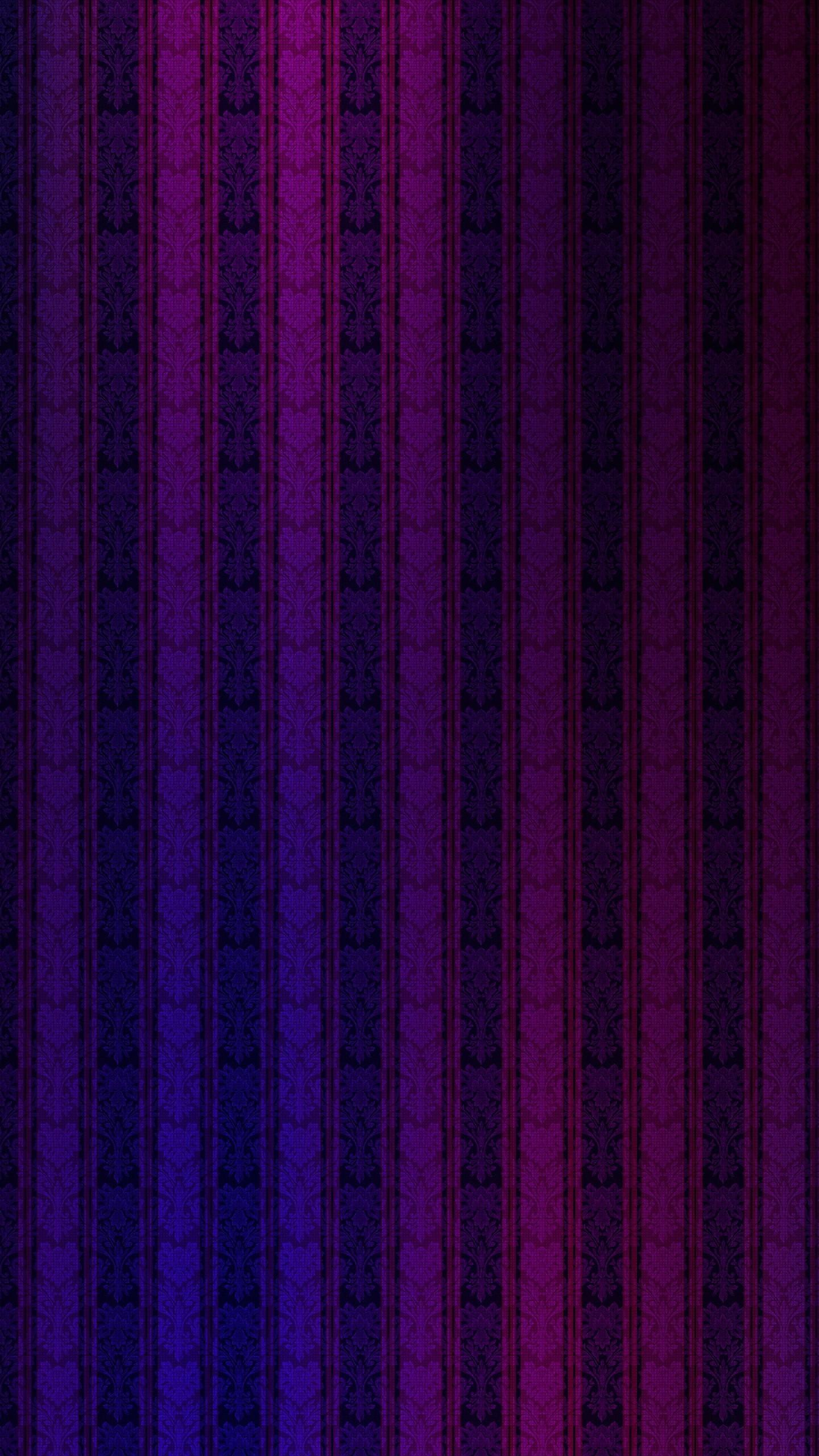 Wallpaper strips, lights, vertical