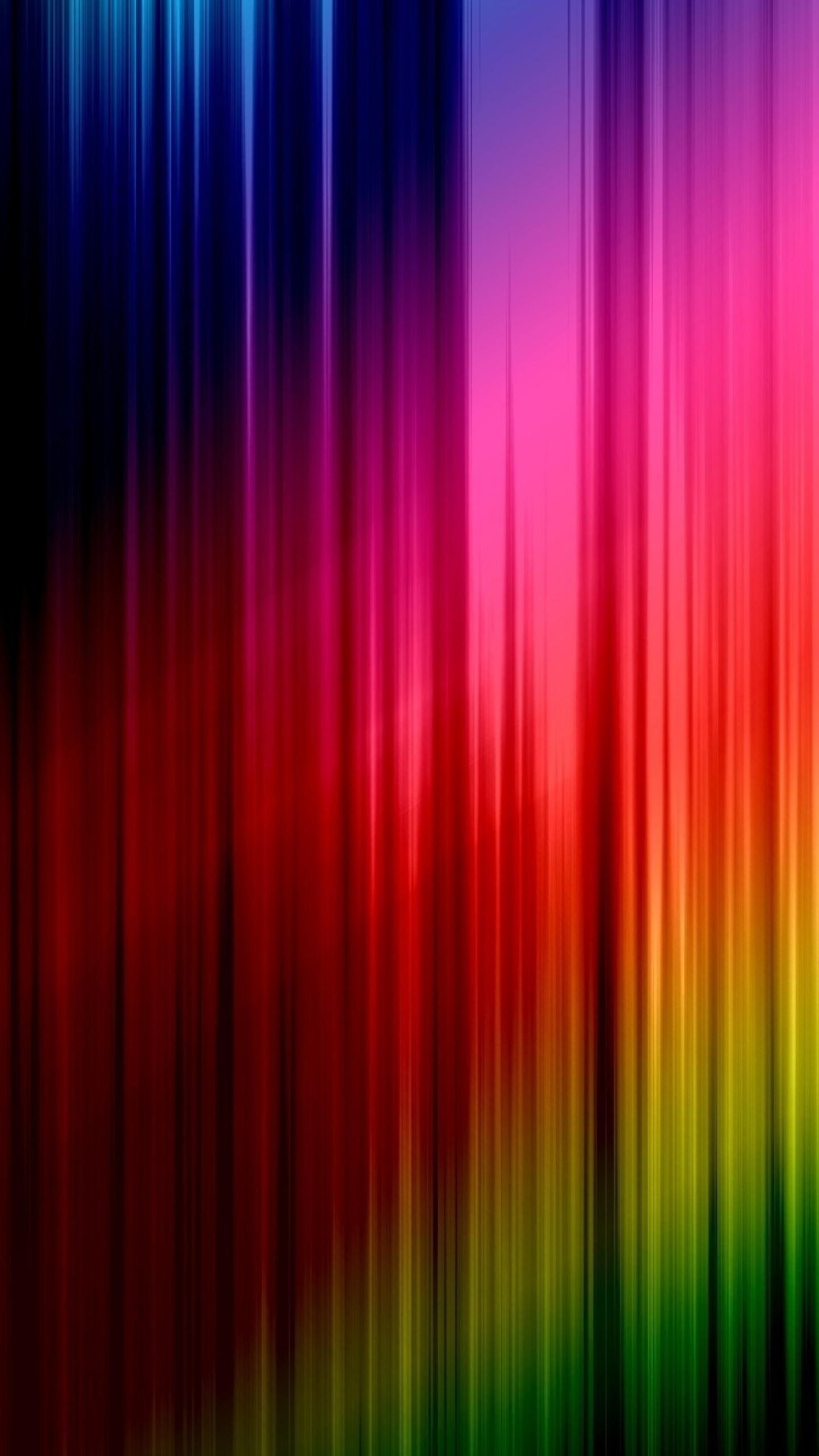 Wallpaper lines, vertical, stripes, rainbow