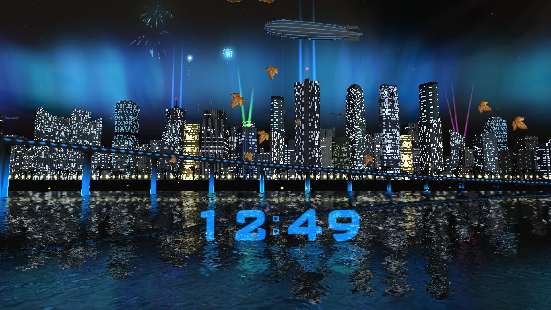 Day Night City Fireworks LWP (v.1.0.3) – Live wallpaper by Exacron Full HD(1080p)  – YouTube
