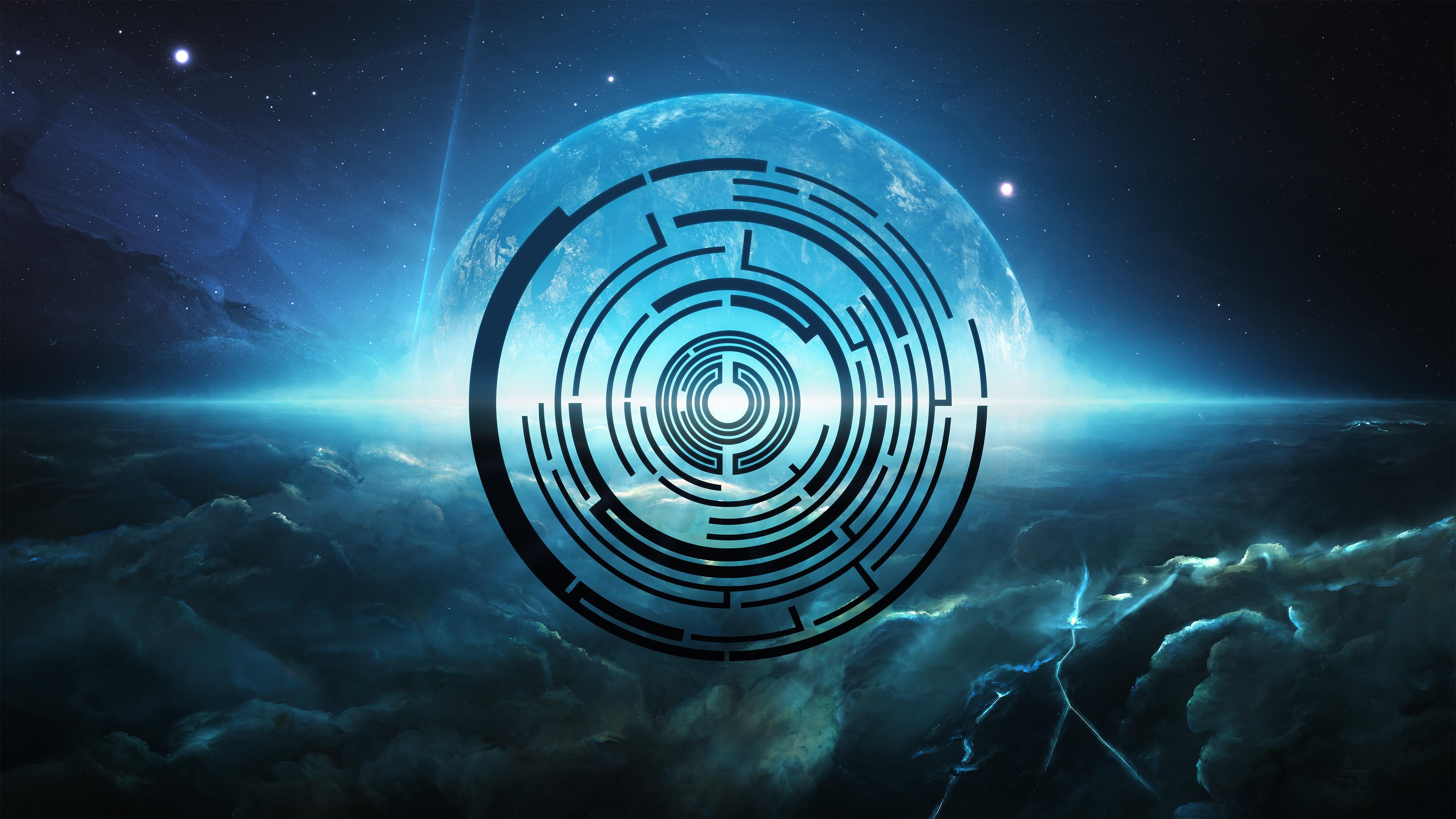 Pendulum Space Wallpaper[3840×2160]