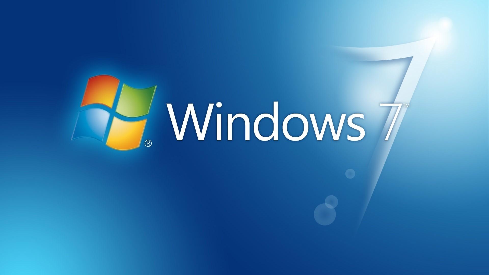Wallpaper windows 7, win 7, logo