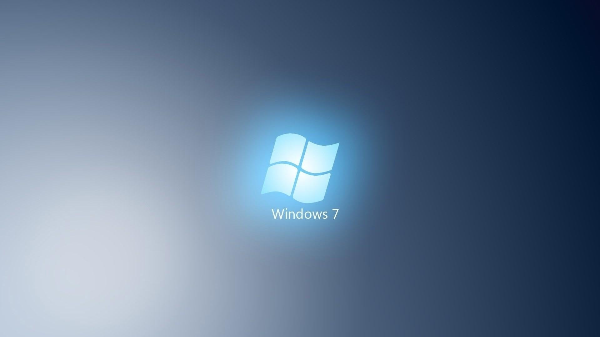 Preview wallpaper windows 7, cyan, light, white 1920×1080