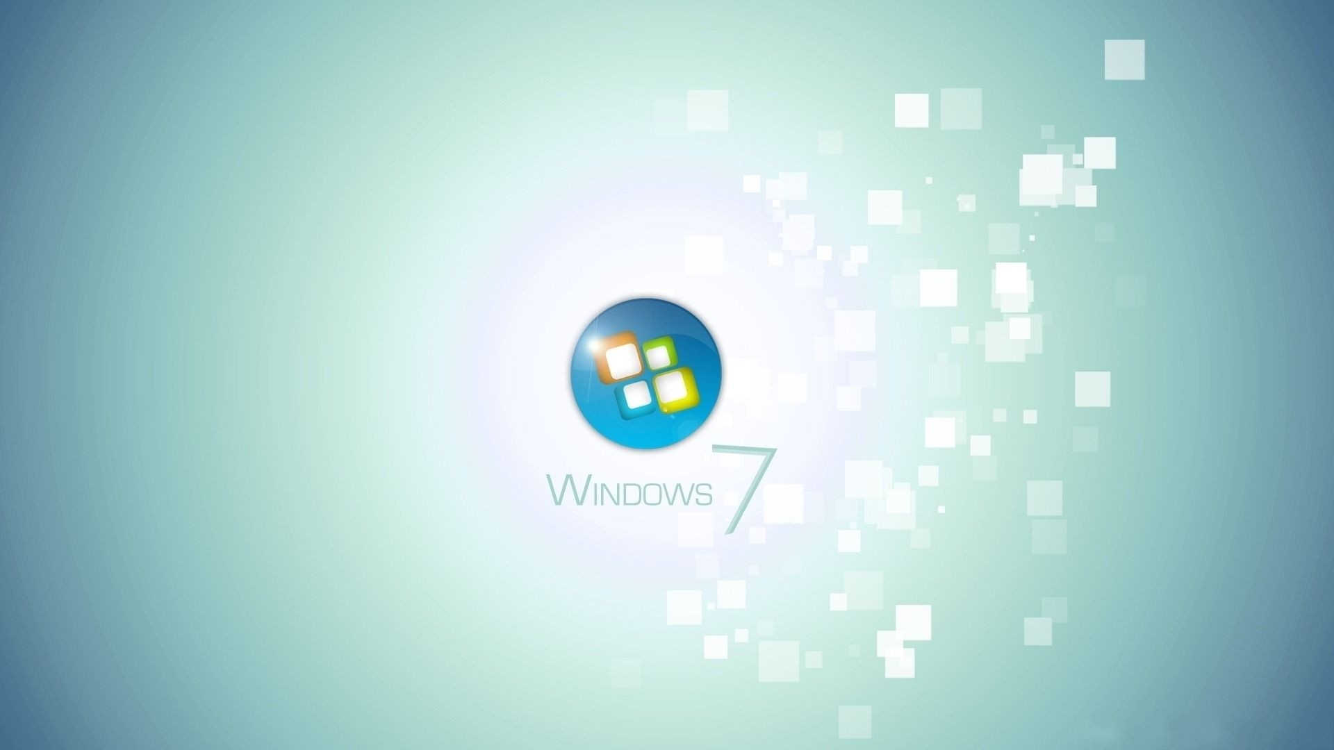 Preview wallpaper windows 7, background, light, operating system 1920×1080