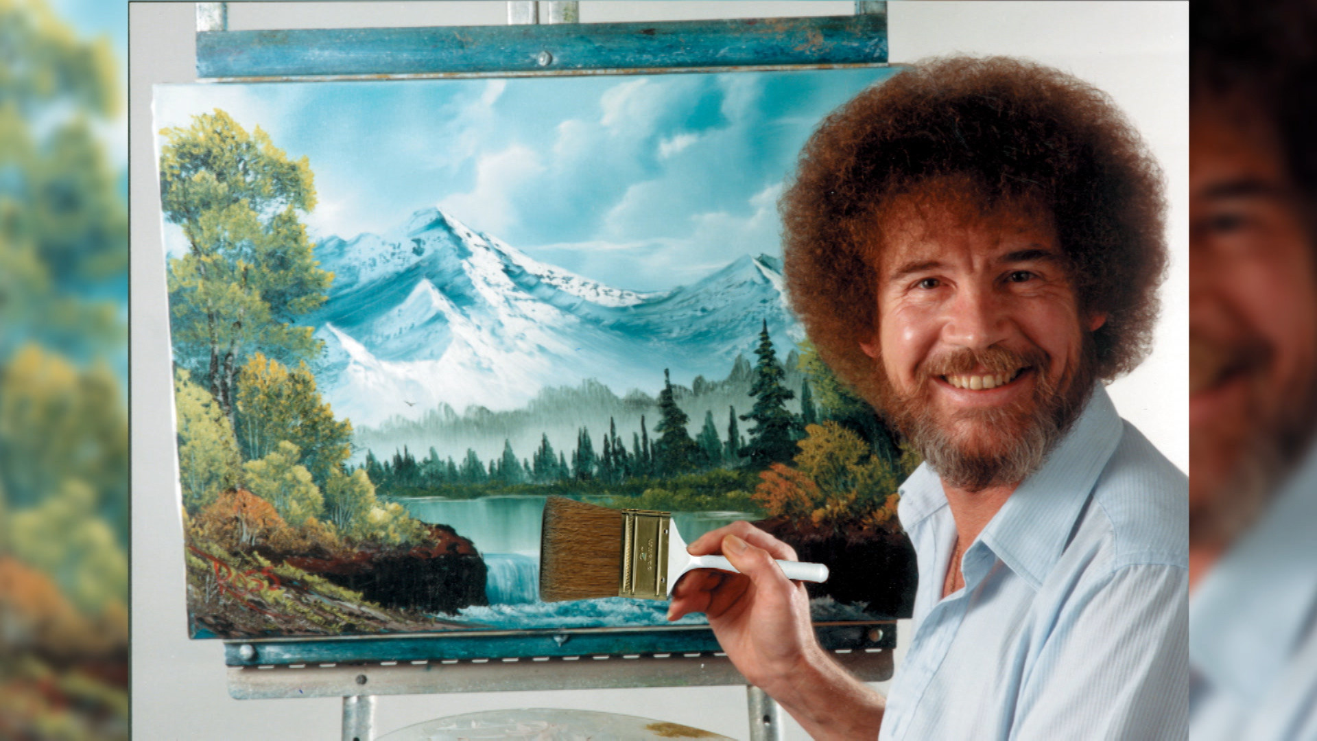 The Mysterious Life Of Famed Artist Bob Ross