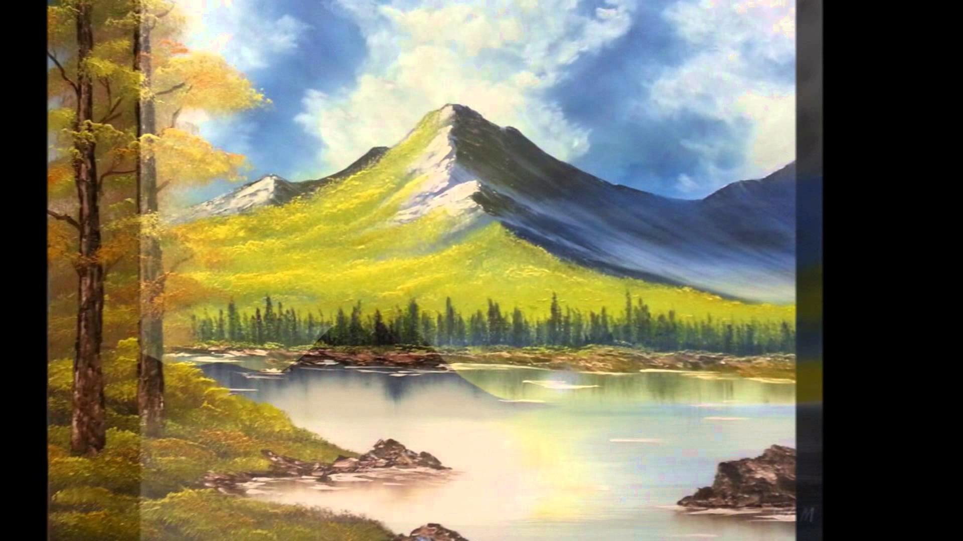 Inspired By Bob Ross : WAM Paintings For All Time