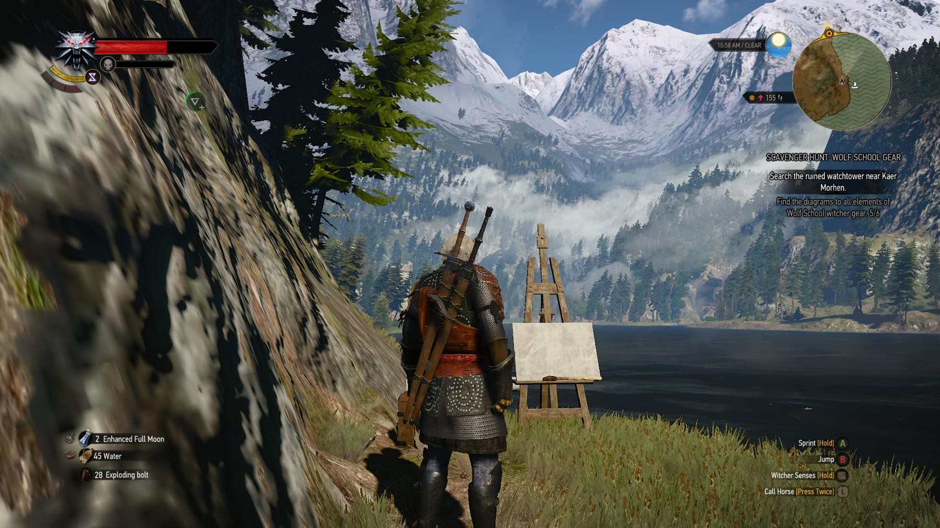 I found a Bob Ross Easter egg in the Witcher 3.