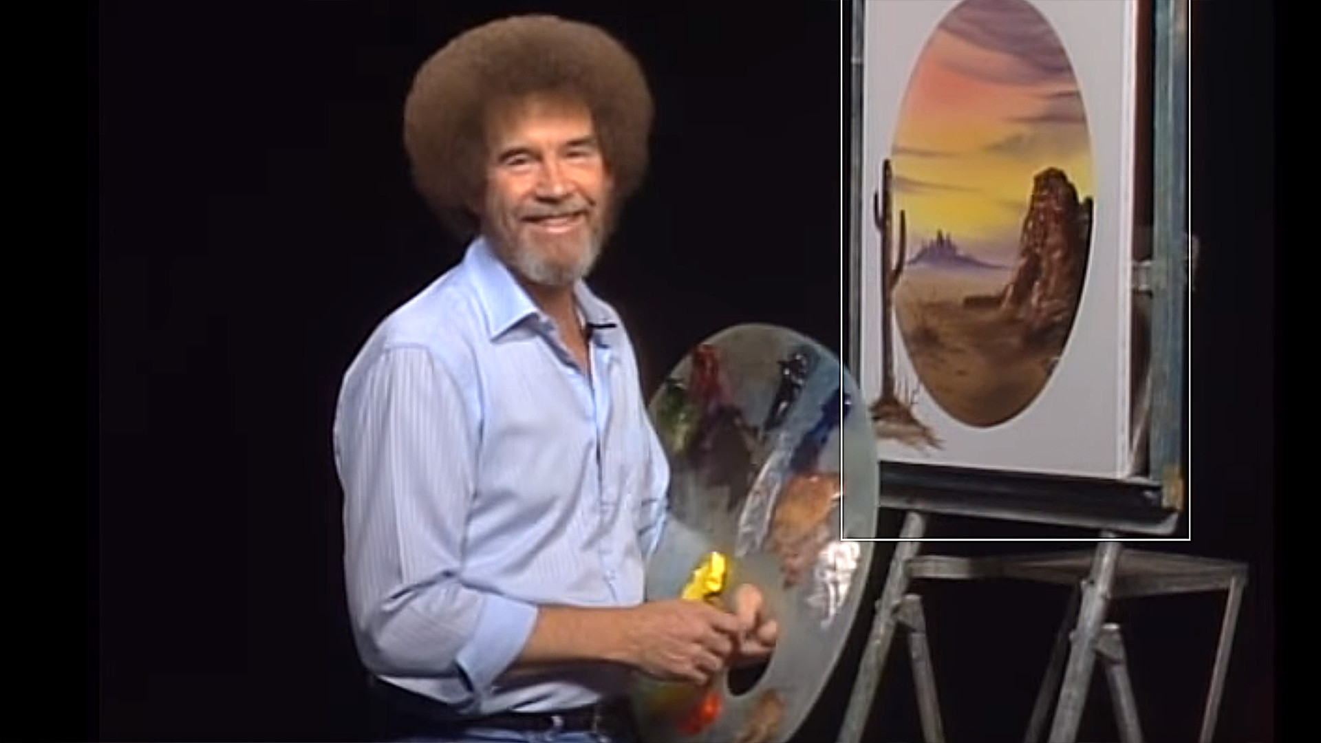 Bob Ross' famous curly hair was actually straight – TODAY.com