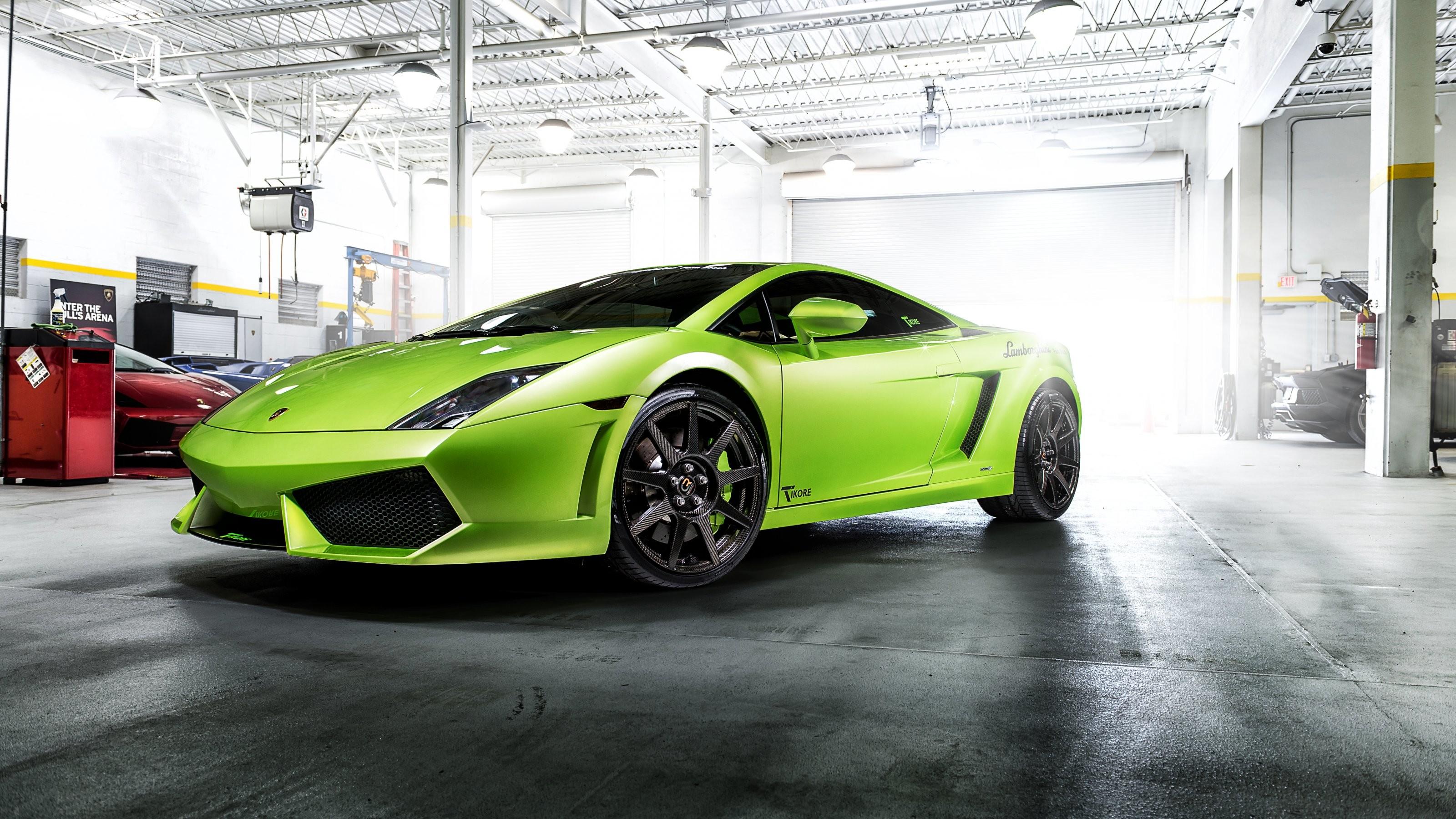 Tikore Lamborghini Gallardo Wallpaper 3200×1800