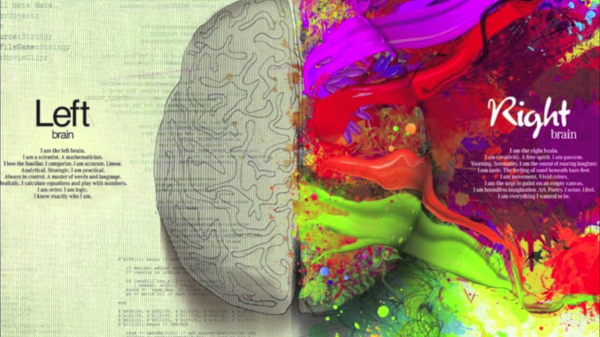 Trends For > Left And Right Brain Wallpaper