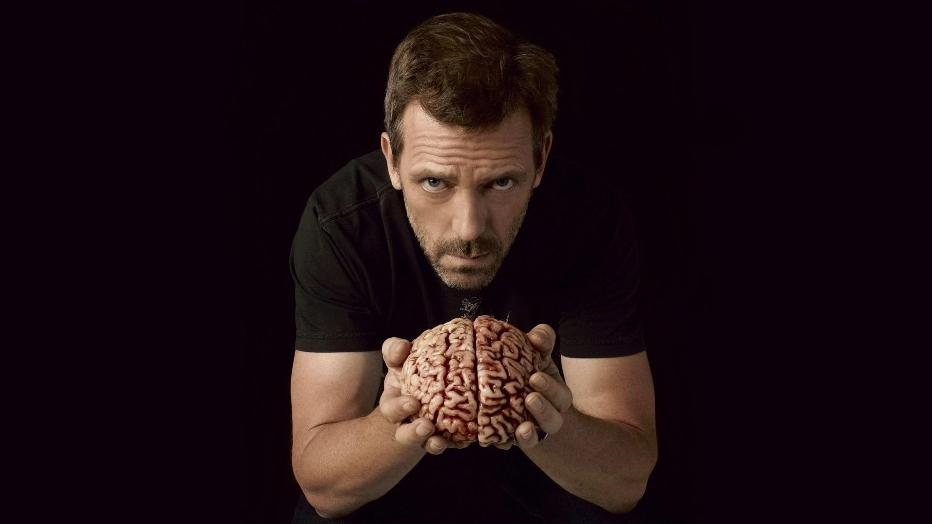 … dr house, hugh laurie, brain