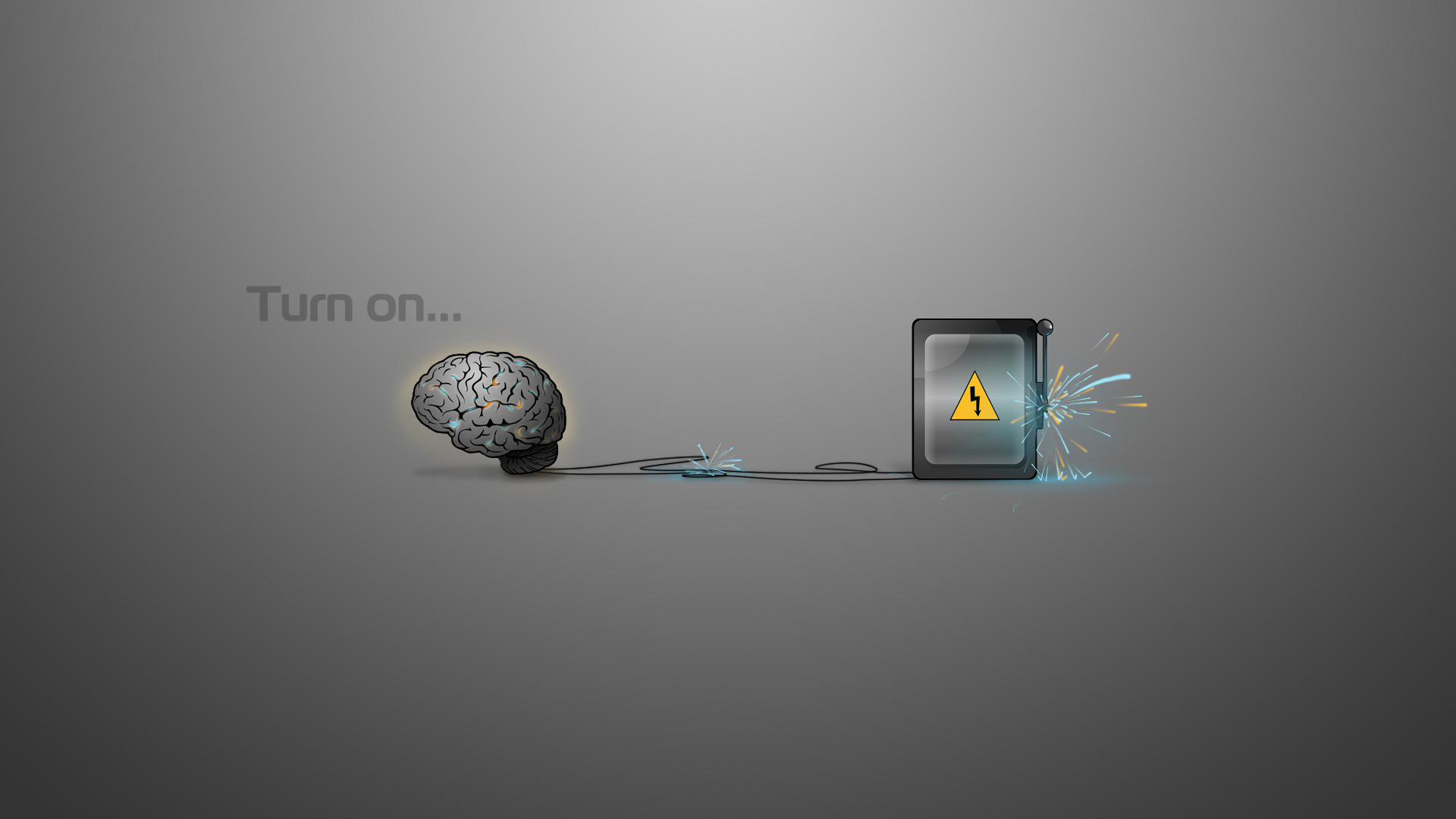 Misc – Motivational Brain Electricity Wallpaper