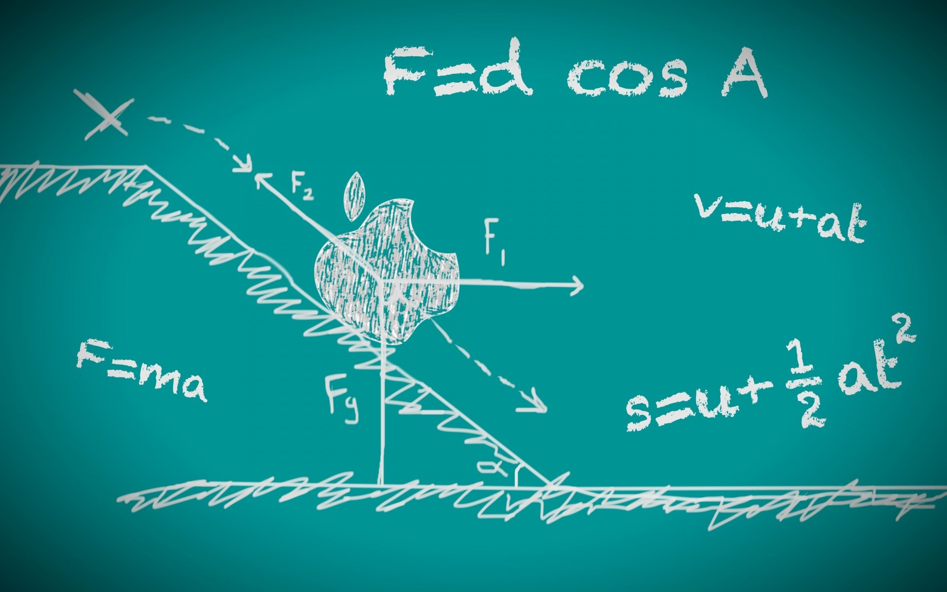 Physics Formulas Wallpaper Physics, wallpapers