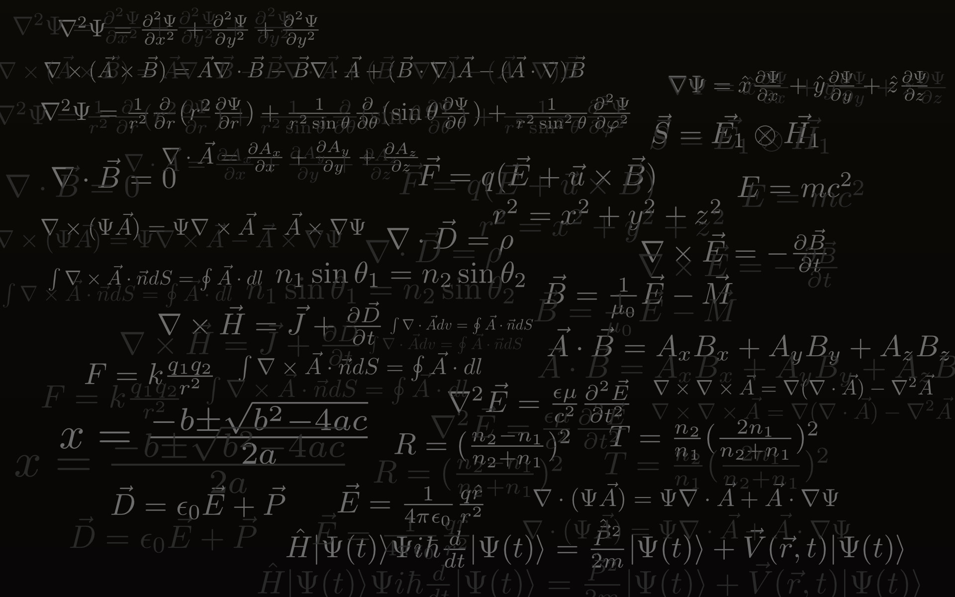 Beautiful Calculus Backgrounds in High Definition