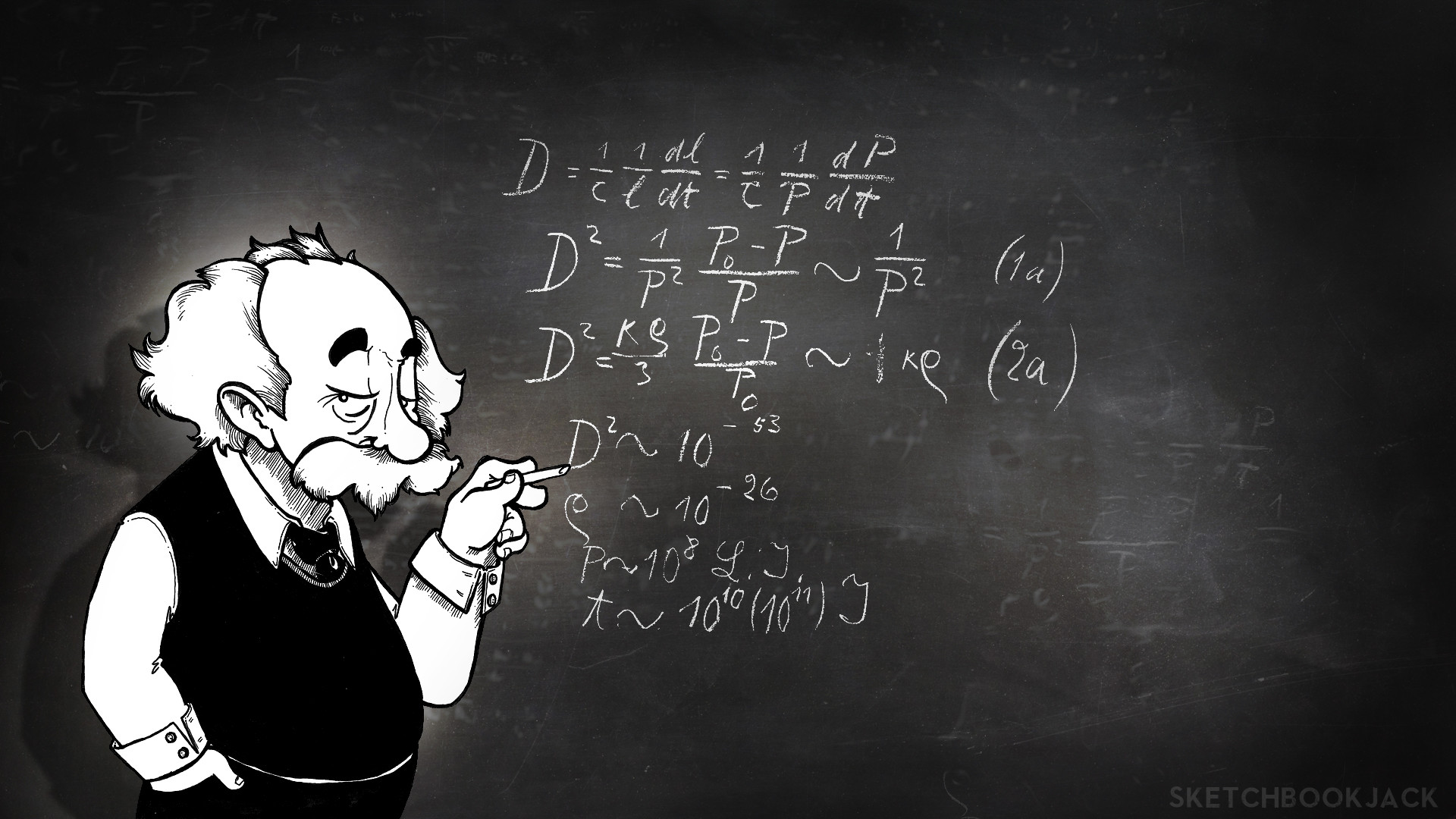 Download Albert Einstein Cartoon HD Wallpapers (3405) Full Size .