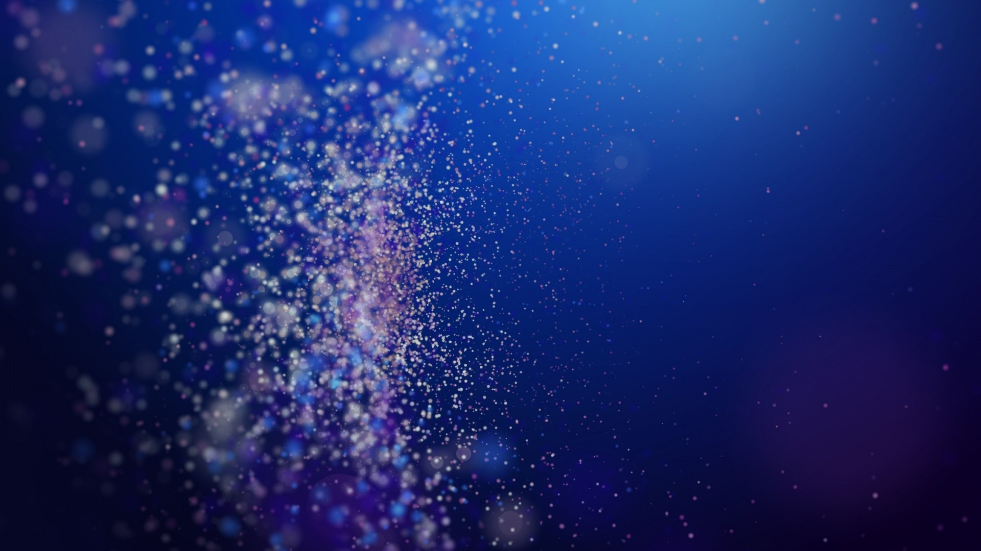 Abstract Chemistry Particles Wallpaper