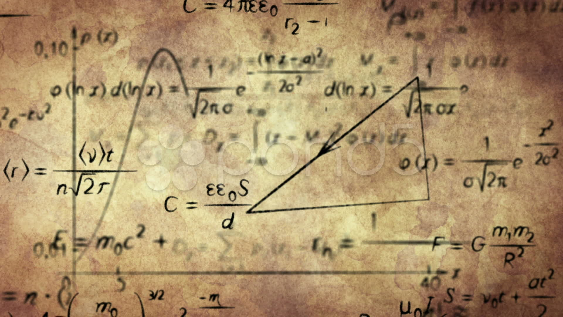 Physics Equations Wallpaper Math Formulas On Old Pictures