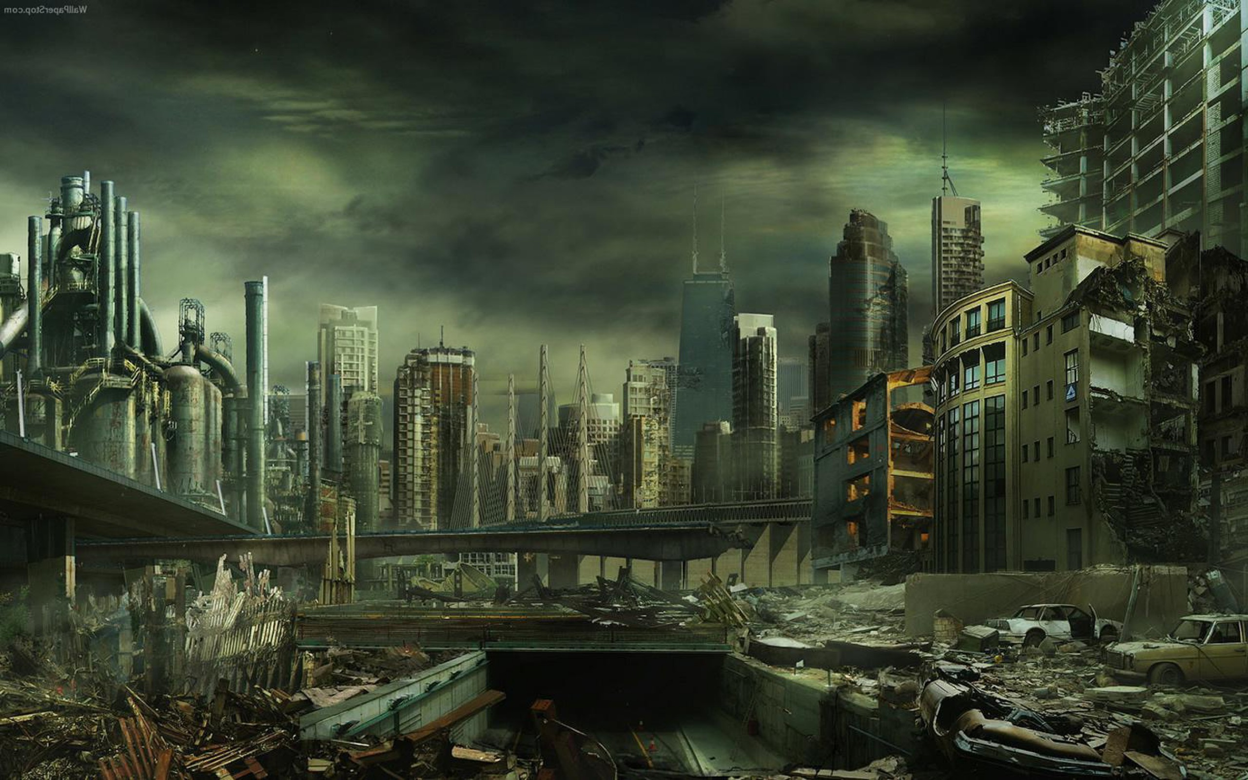 Destroyed City Wallpapers – Full HD wallpaper search