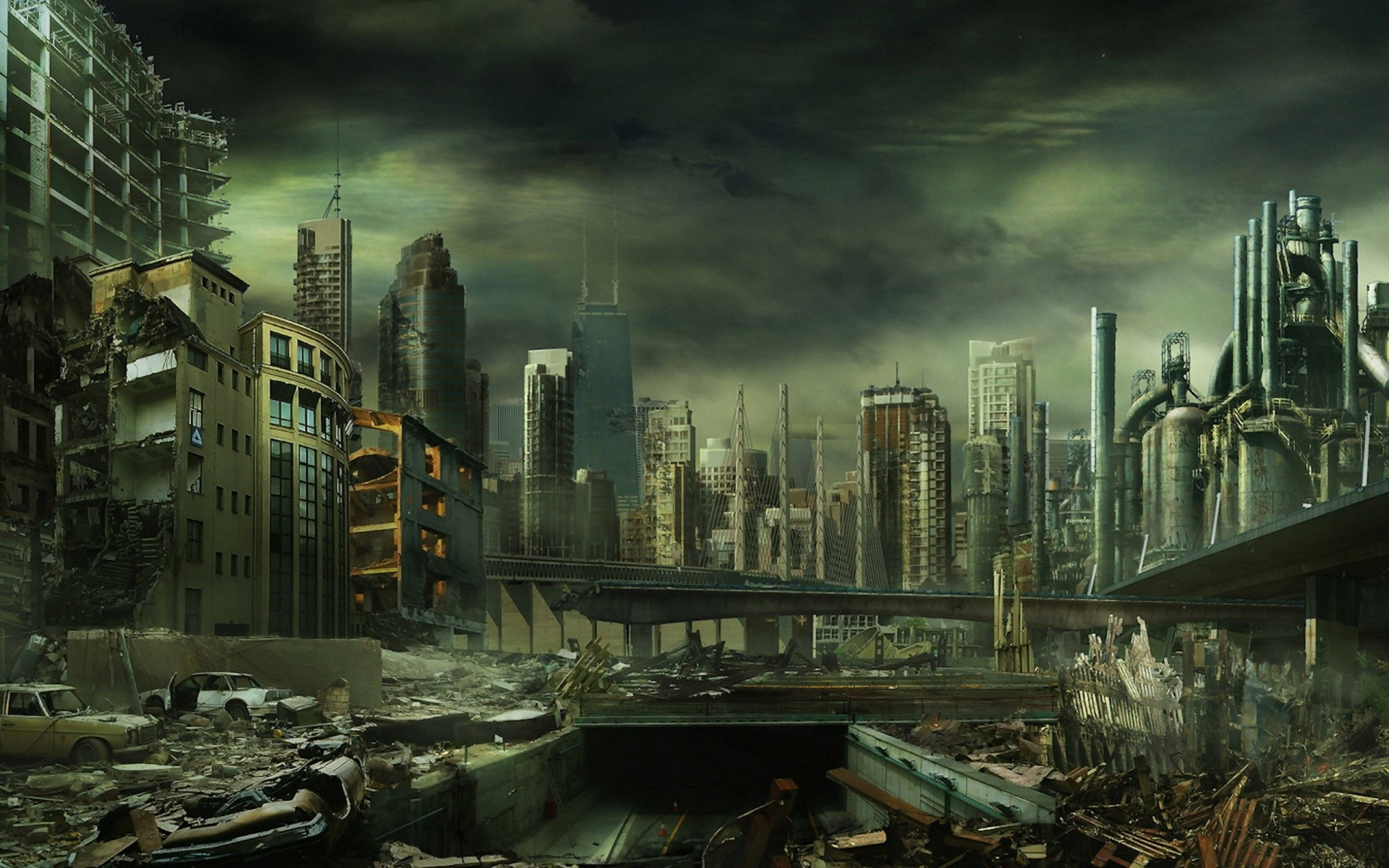 Image – Destroyed city wallpaper-1920×1200.jpg   Halo Fanon   FANDOM  powered by Wikia