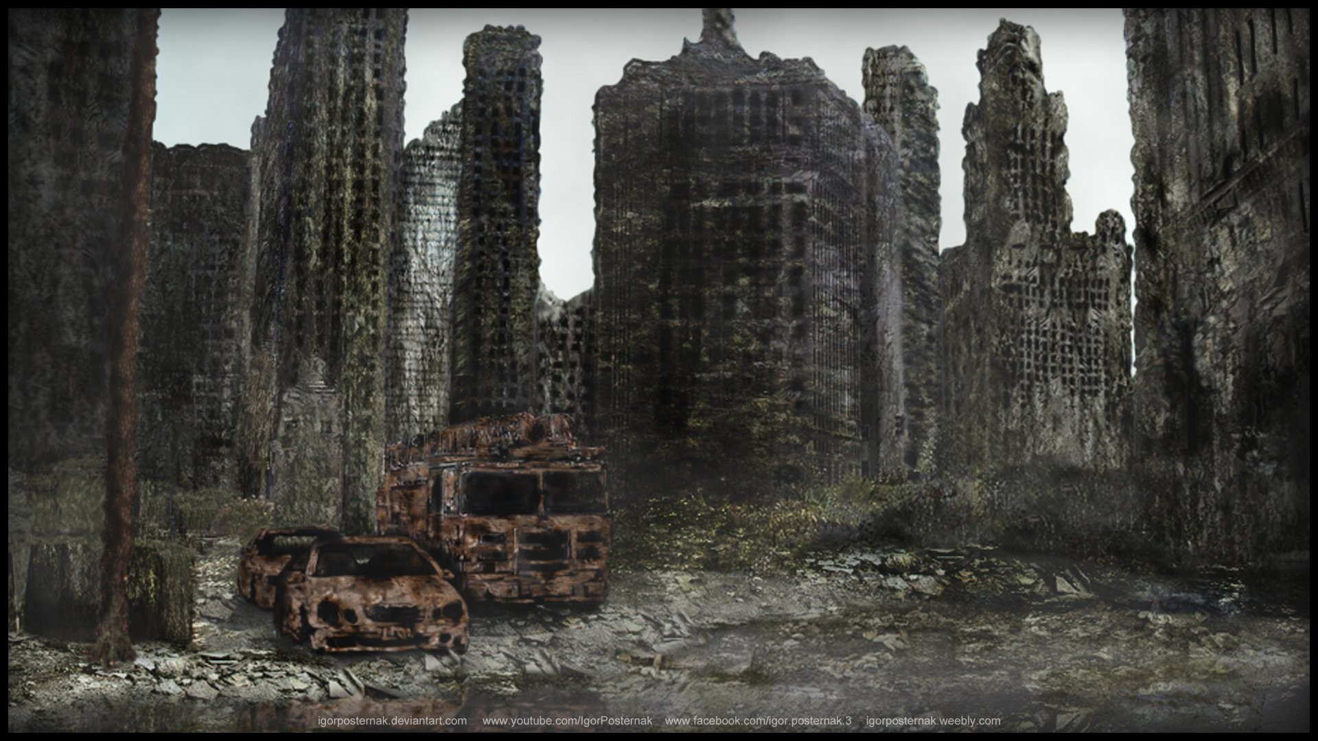 Destroyed City 142491