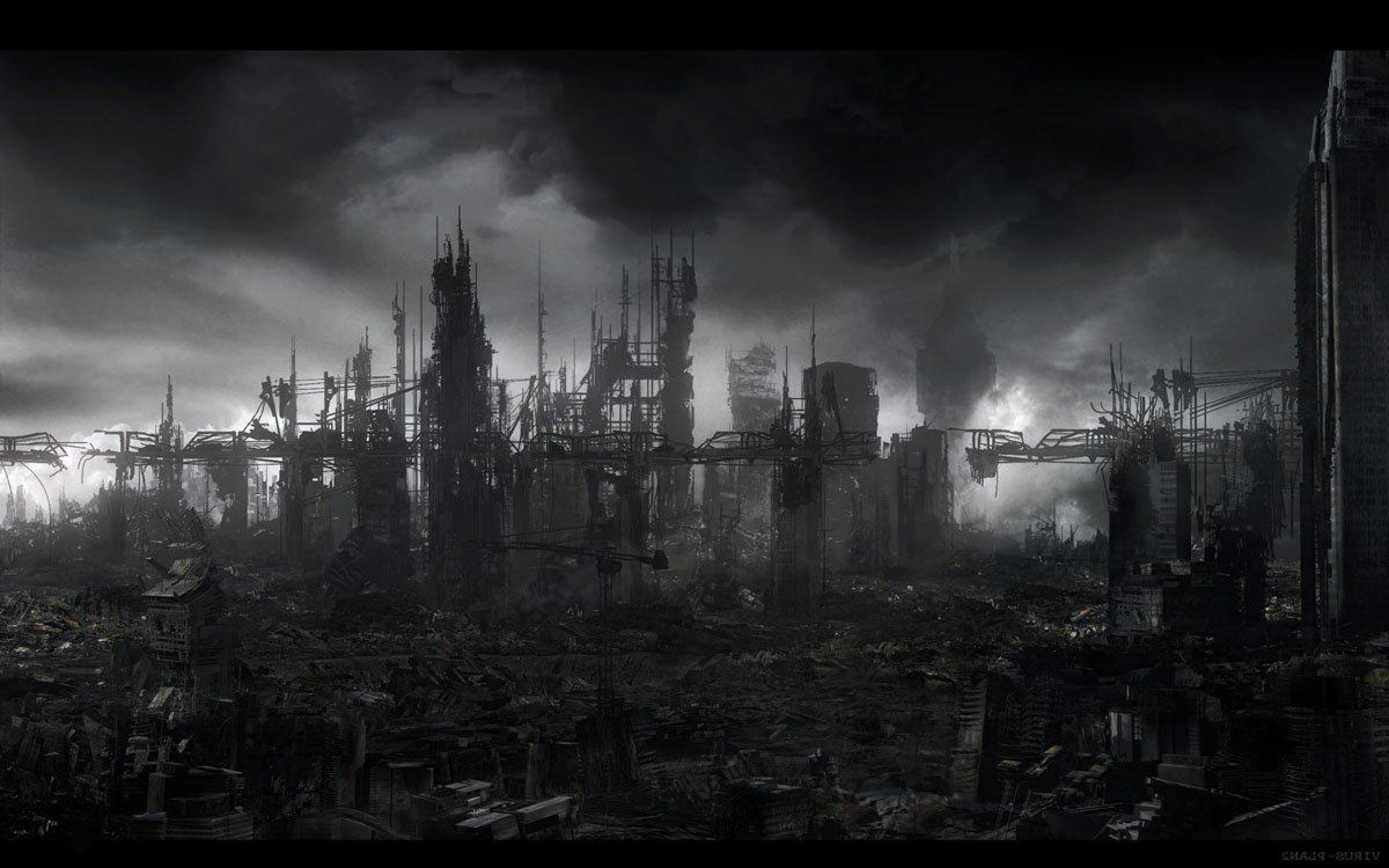 post apocalyptic background