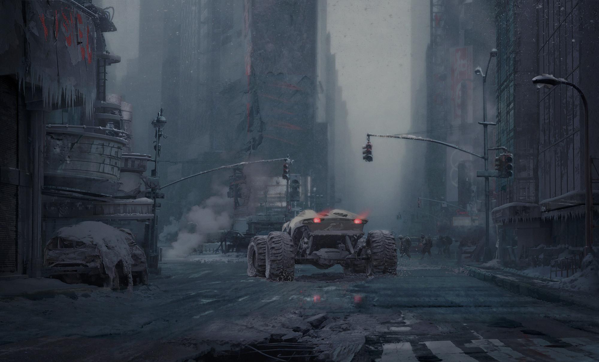 Destroyed City Desktop Background. Download …