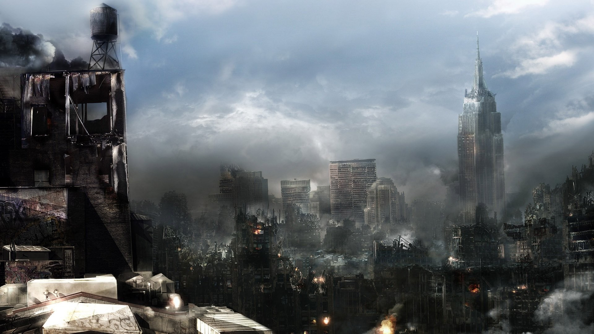 Destroyed City 328573 …