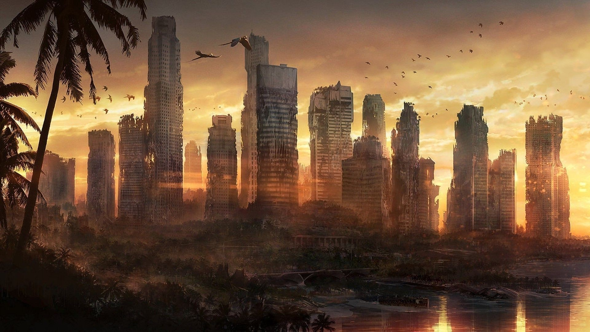 """""""DC was the first to fall. The disease spread quickly and the government  tried to solve the problem by nuking the capital to keep it from spreading…"""