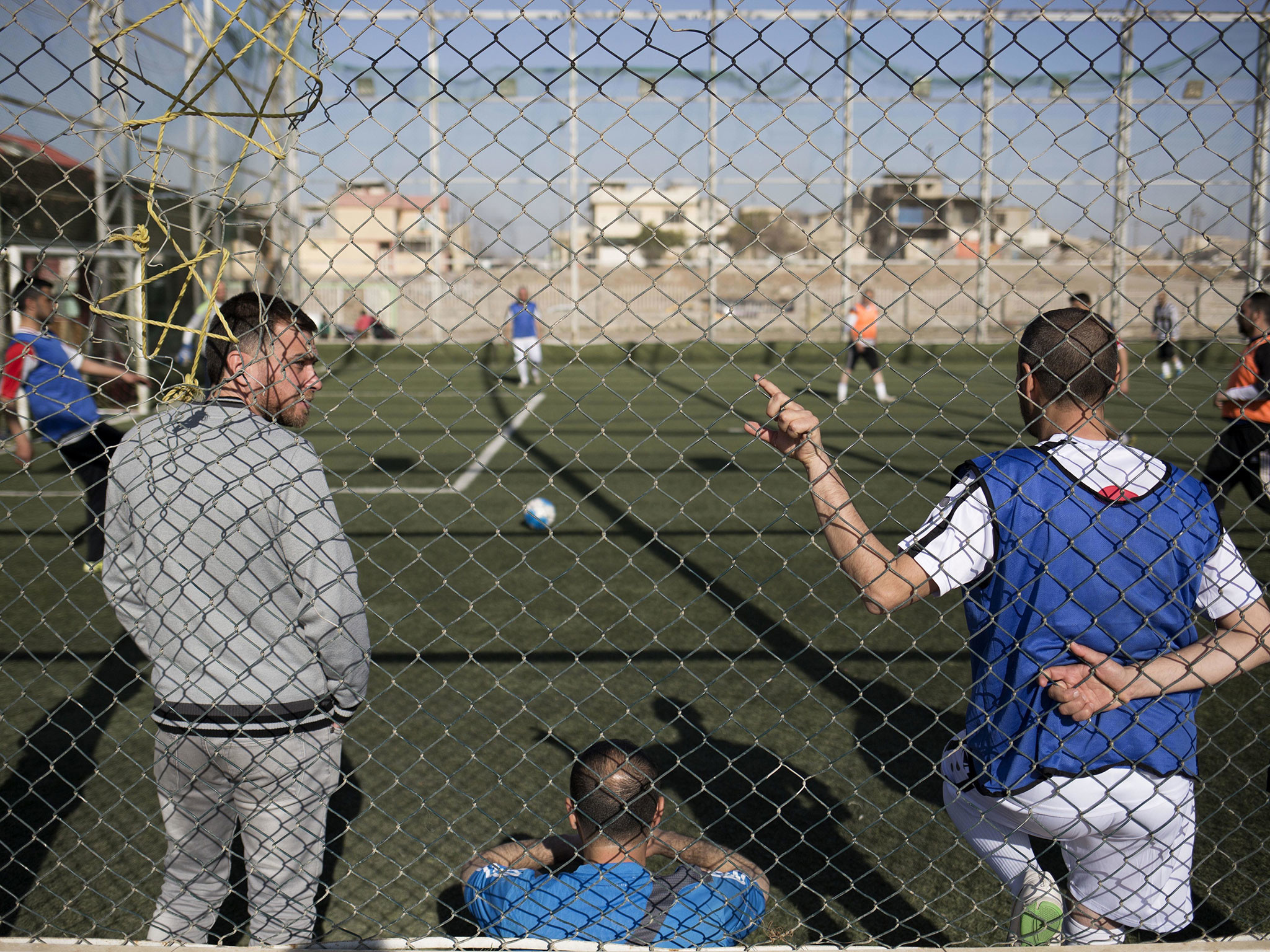 Football returns to Mosul – free from Isis's bizarre extra rules