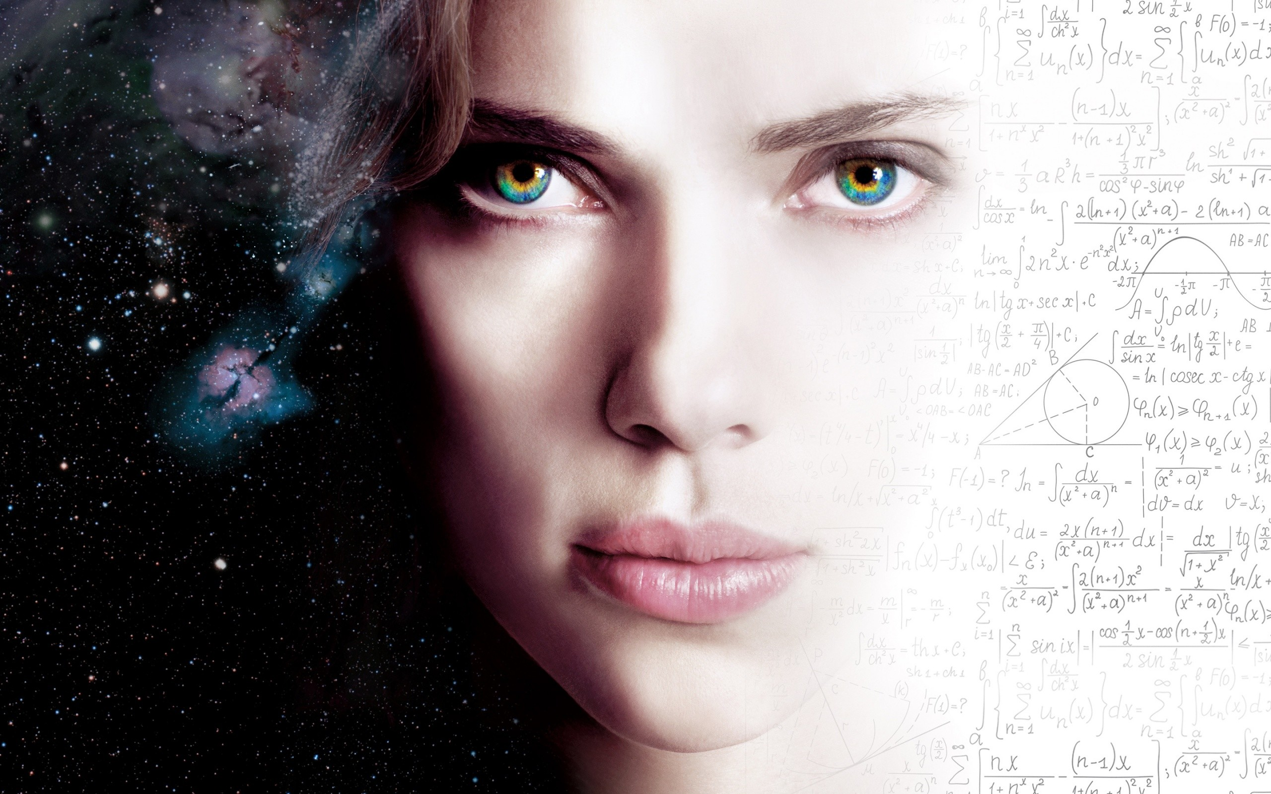 Wallpaper Scarlett Johansson 2014 Film Lucy HD 1080p