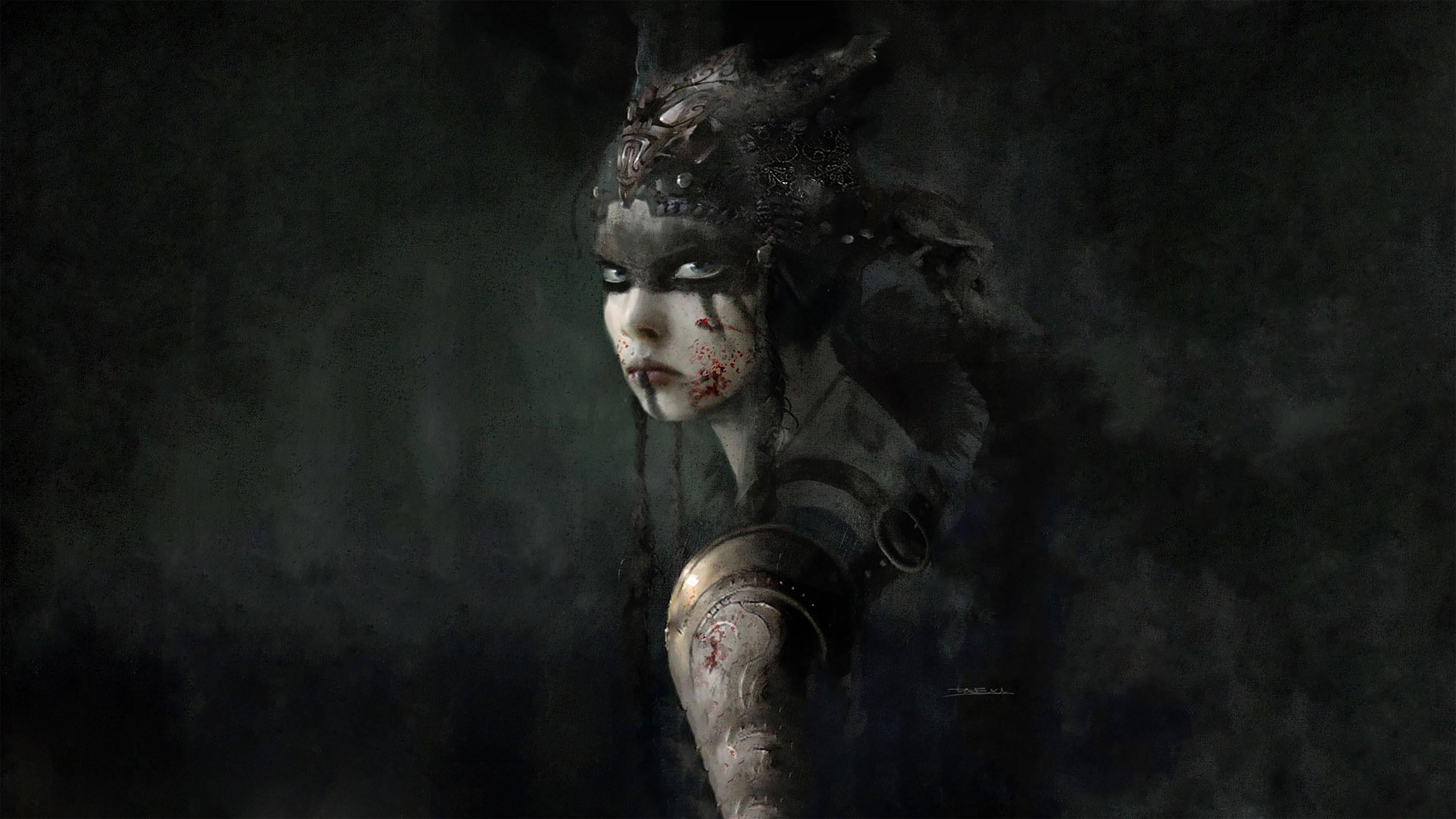 Hellblade- Senua's Sacrifice 4K Wallpaper …