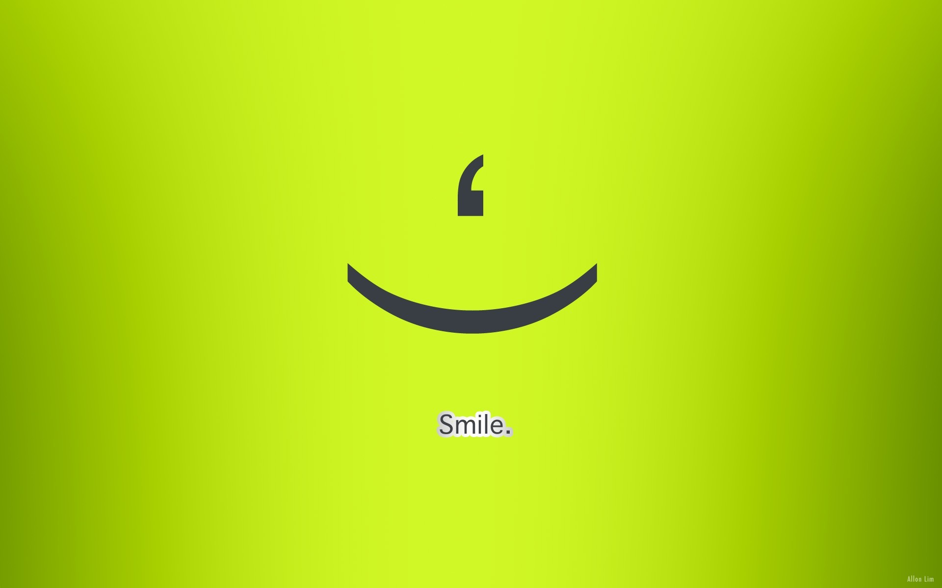 green text smiling simple background green background wallpaper …
